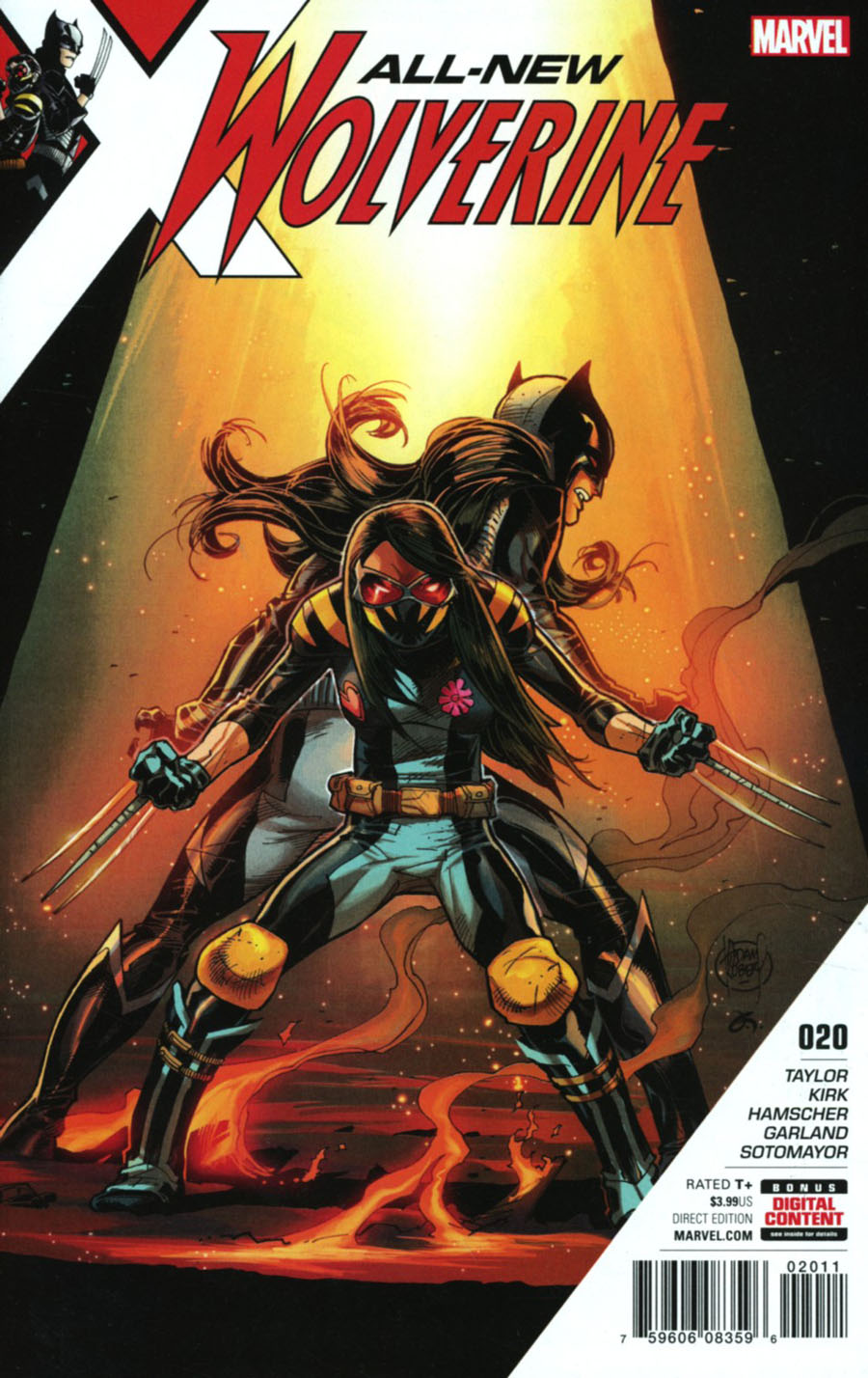 All-New Wolverine #20 Cover A Regular Adam Kubert Cover