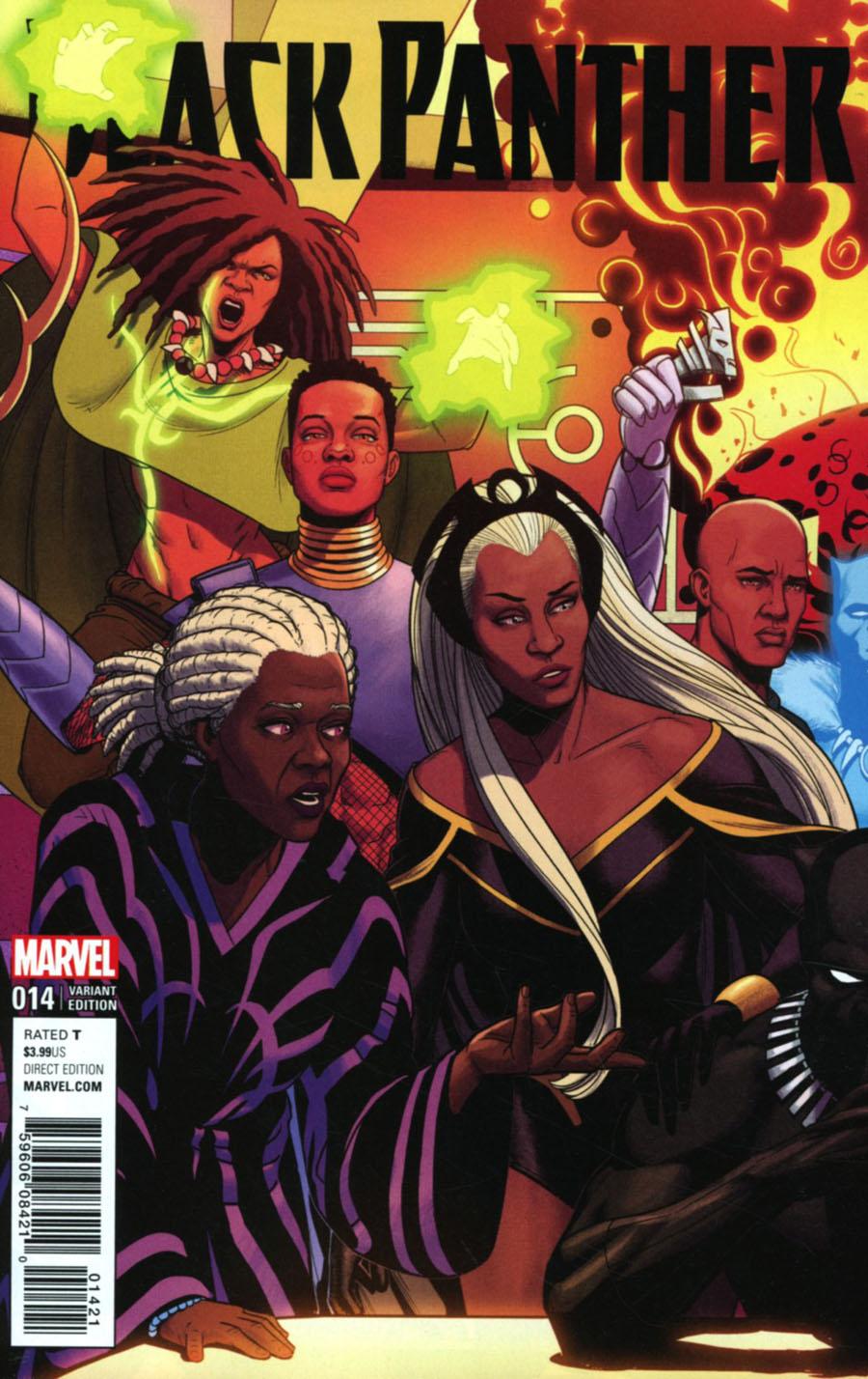Black Panther Vol 6 #14 Cover B Variant Jamie McKelvie Connecting B Cover