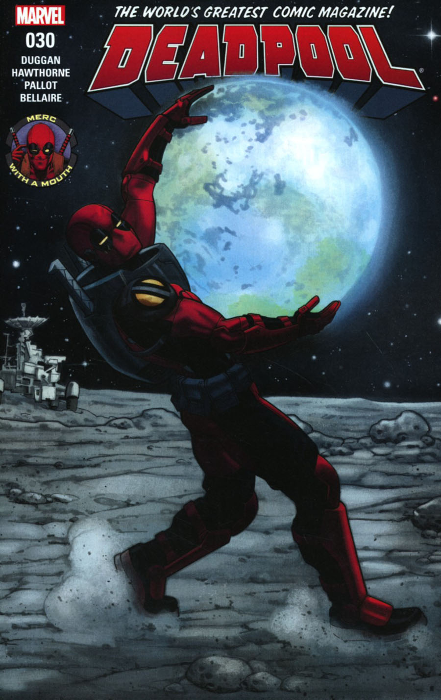 Deadpool Vol 5 #30 Cover A Regular Mike Hawthorne Cover