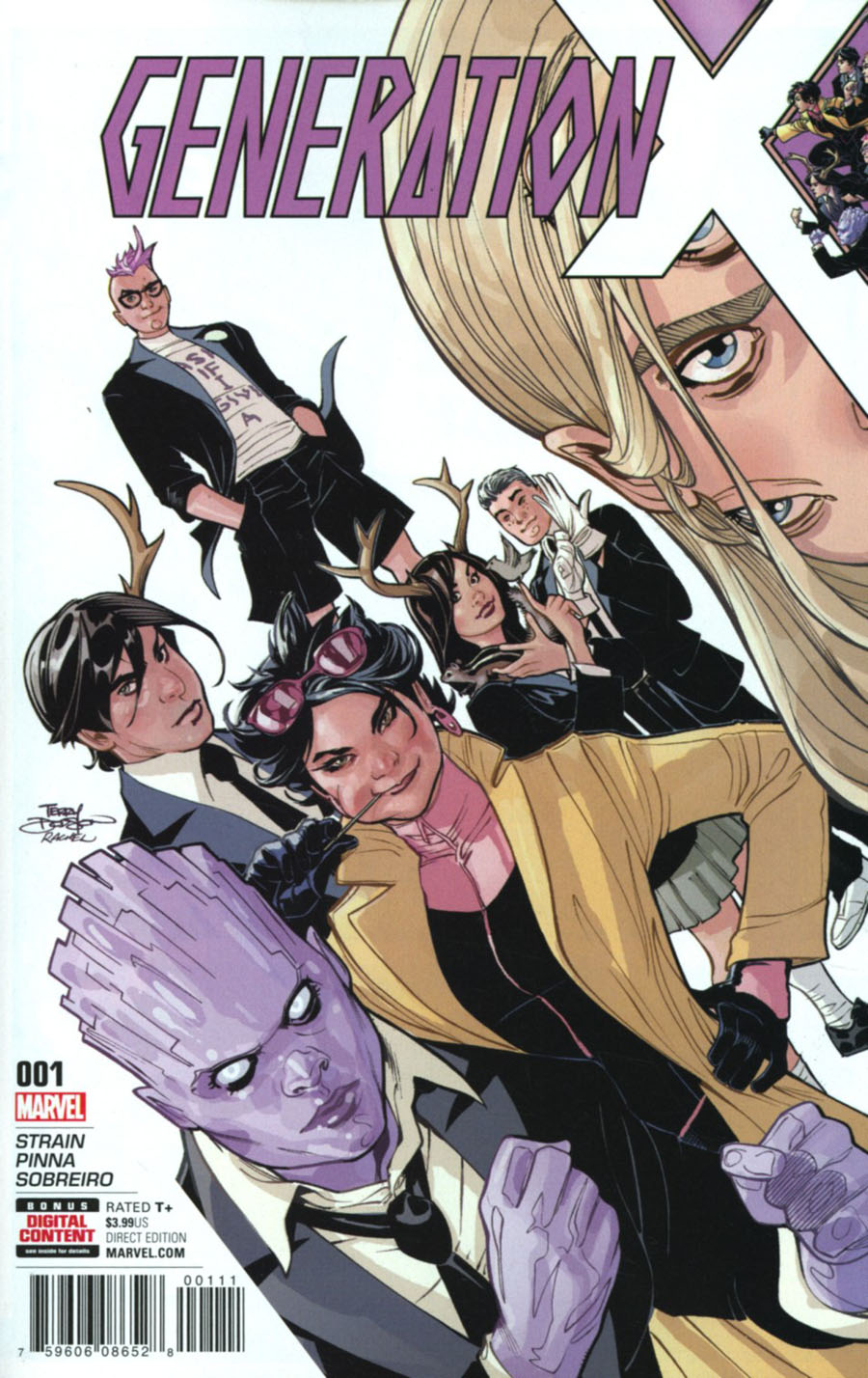 Generation X Vol 2 #1 Cover A Regular Terry Dodson Cover (Resurrxion Tie-In)