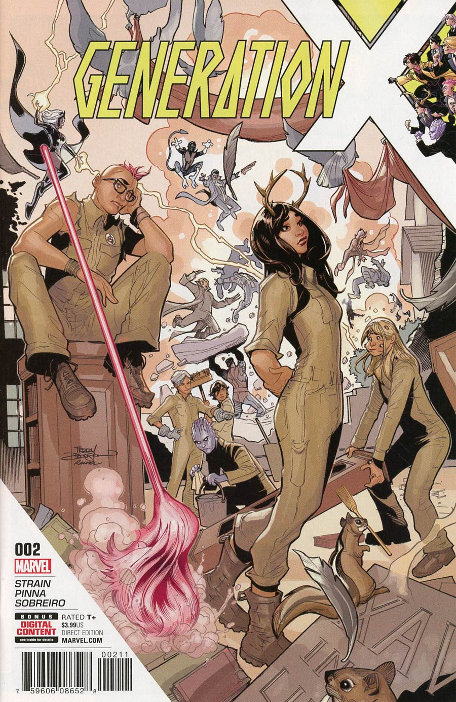 Generation X Vol 2 #2 Cover A Regular Terry Dodson Cover (Resurrxion Tie-In)