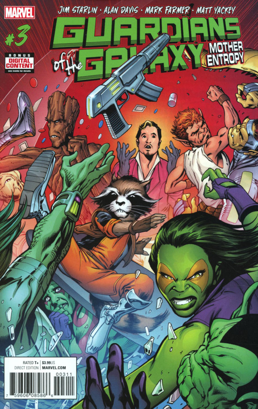 Guardians Of The Galaxy Mother Entropy #3