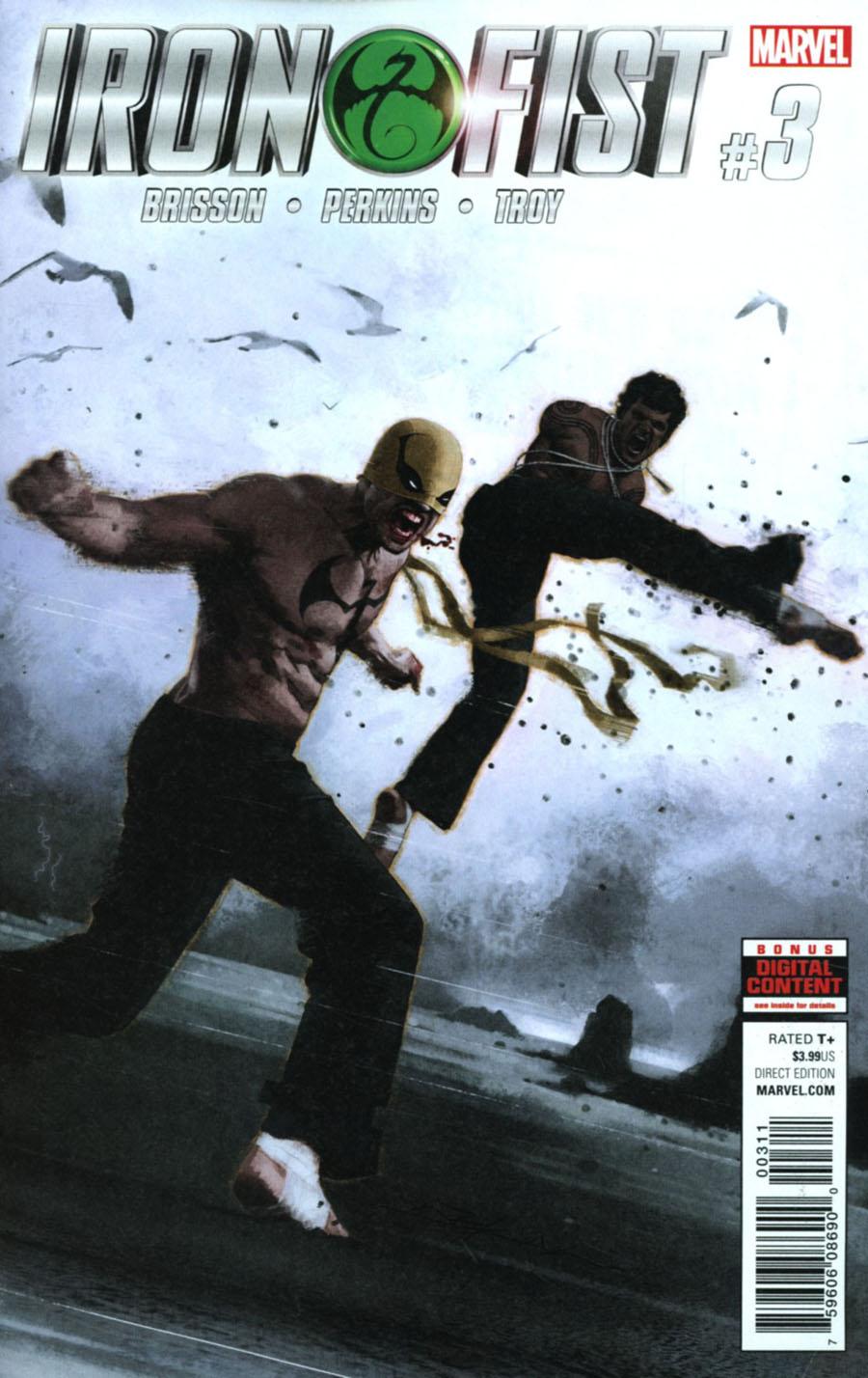 Iron Fist Vol 5 #3 Cover A Regular Jeff Dekal Cover