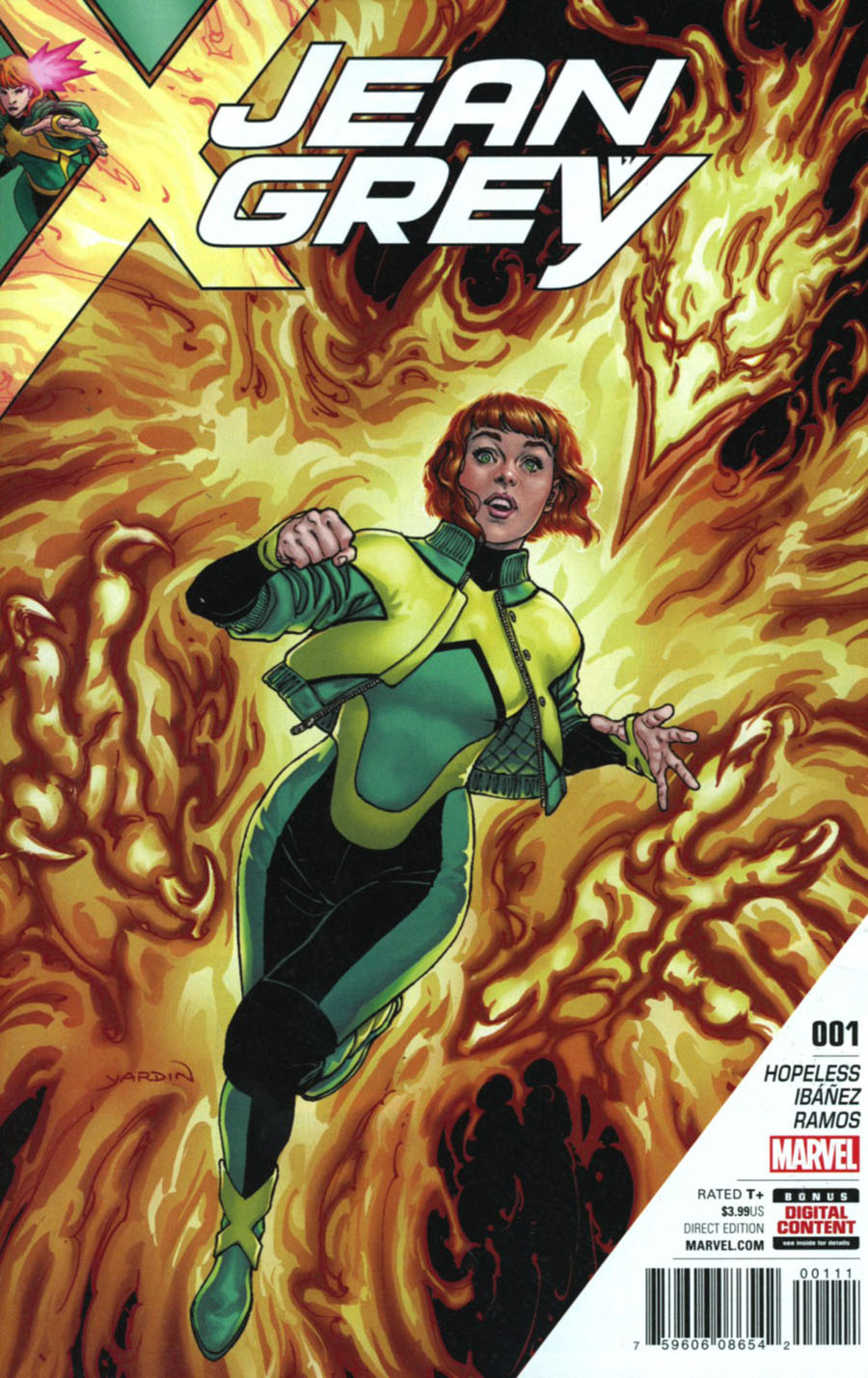 Jean Grey #1 Cover A Regular David Yardin Cover (Resurrxion Tie-In)