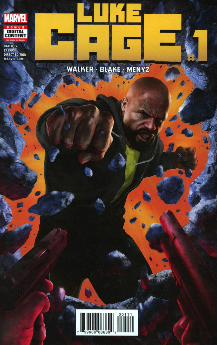 Luke Cage #1 Cover A Regular Rahzzah Cover