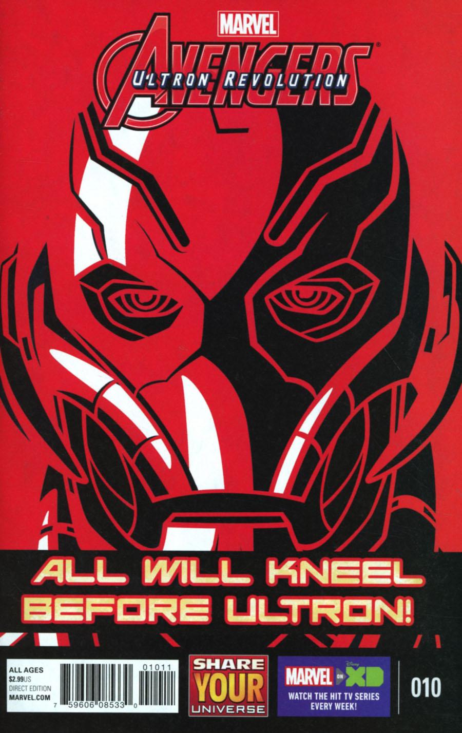 Marvel Universe Avengers Ultron Revolution #10