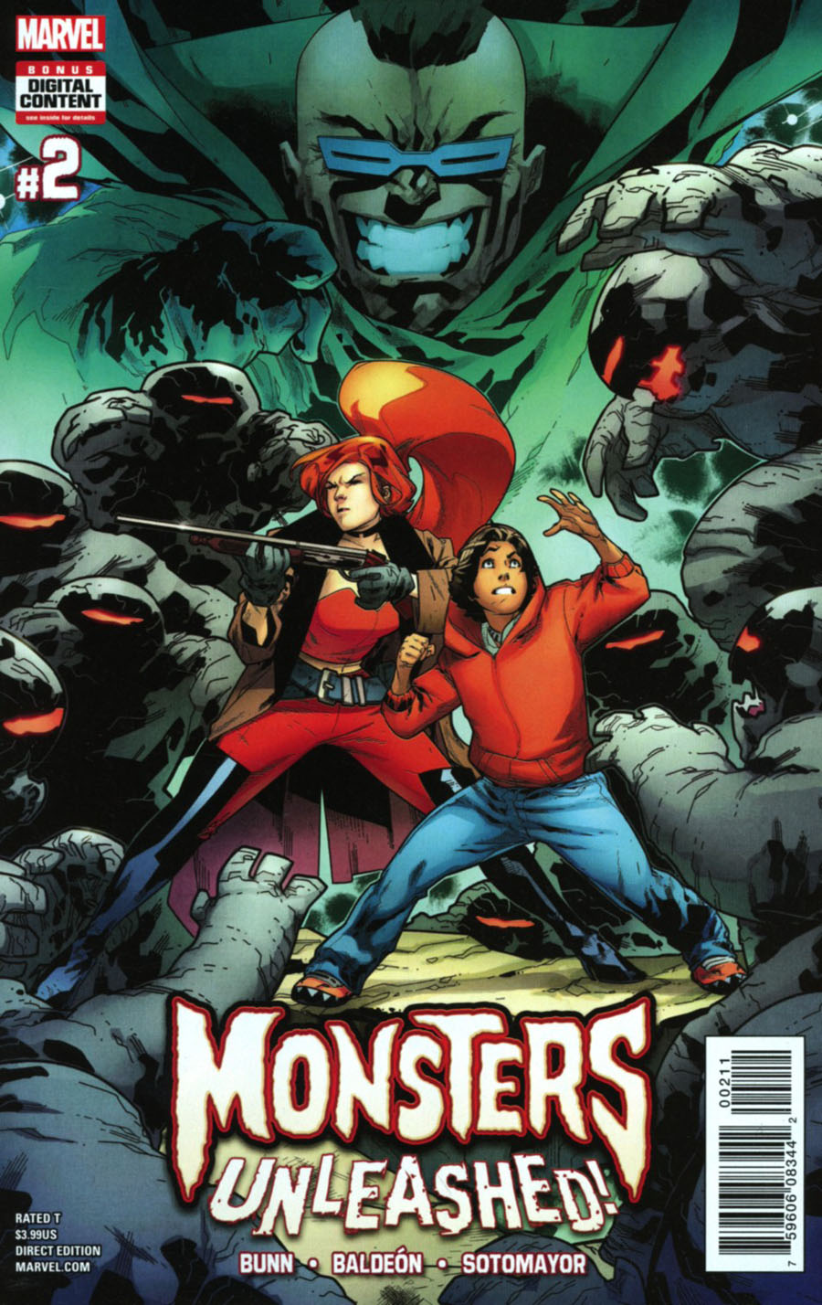 Monsters Unleashed Vol 2 #2 Cover A Regular RB Silva Cover