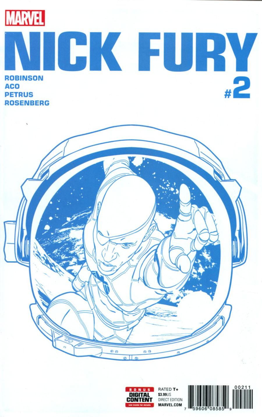 Nick Fury #2 Cover A Regular Aco Cover