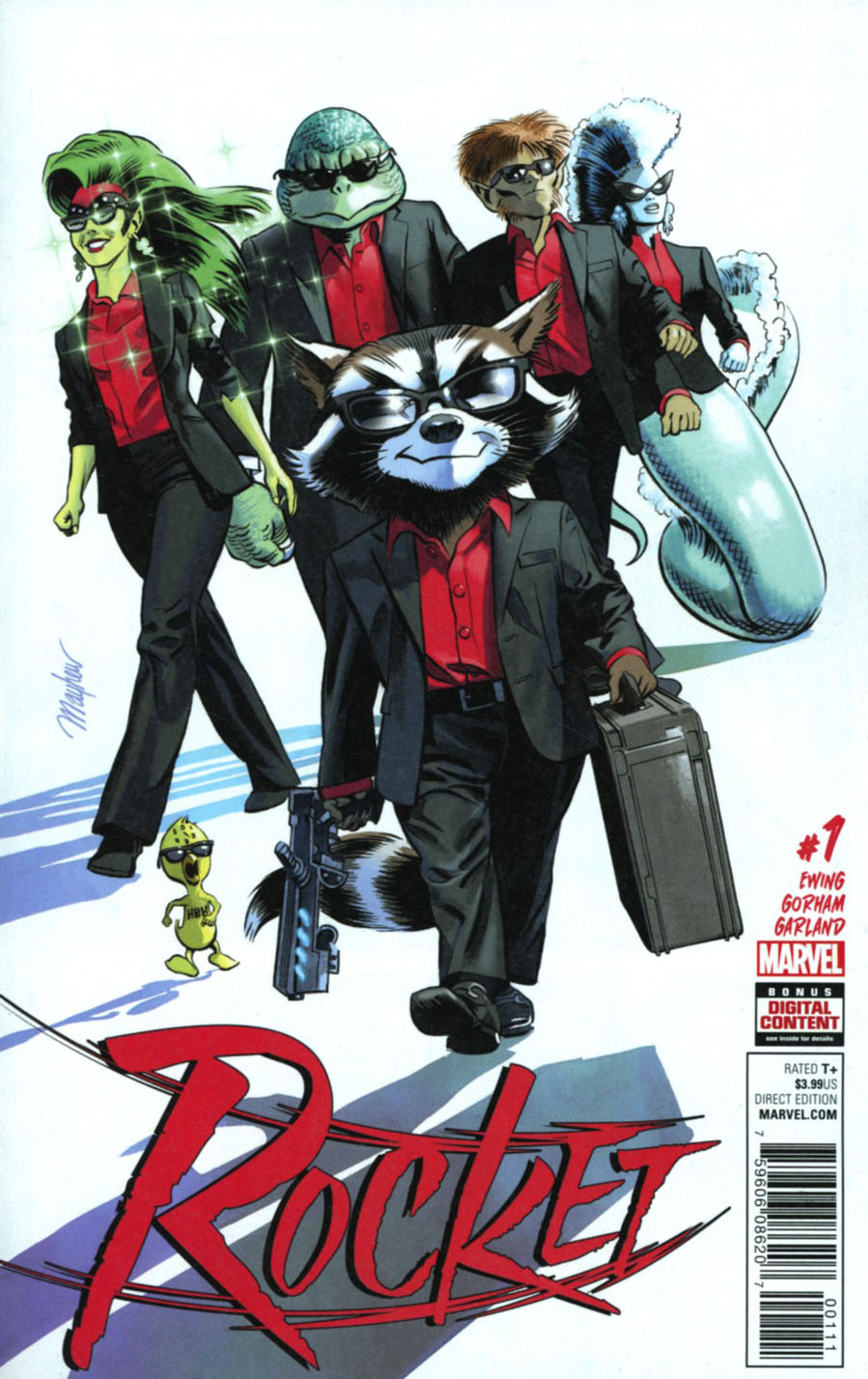 Rocket #1 Cover A Regular Mike Mayhew Cover