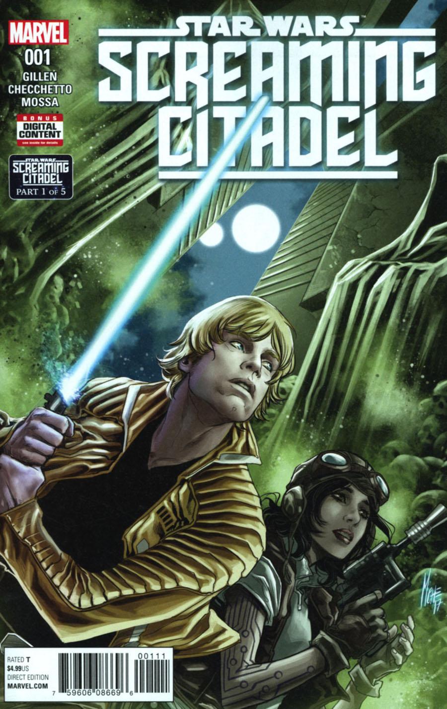 Star Wars Screaming Citadel #1 Cover A Regular Marco Checchetto Cover (Screaming Citadel Part 1)