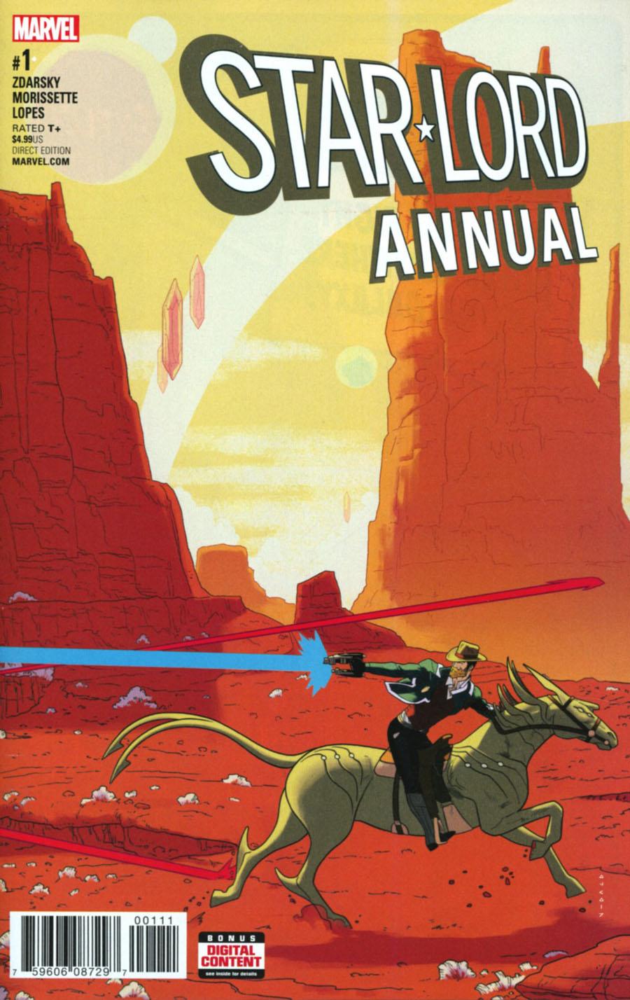Star-Lord Vol 3 Annual #1