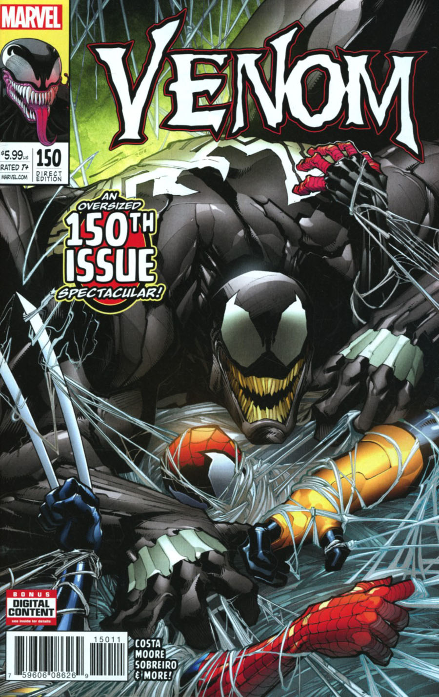 Venom Vol 3 #150 Cover A 1st Ptg Regular Gerardo Sandoval Cover