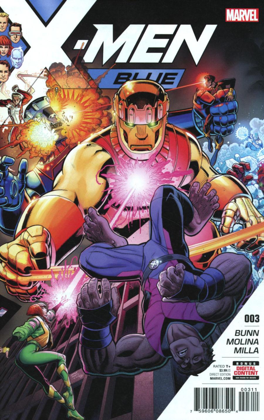X-Men Blue #3 Cover A 1st Ptg Regular Arthur Adams Cover