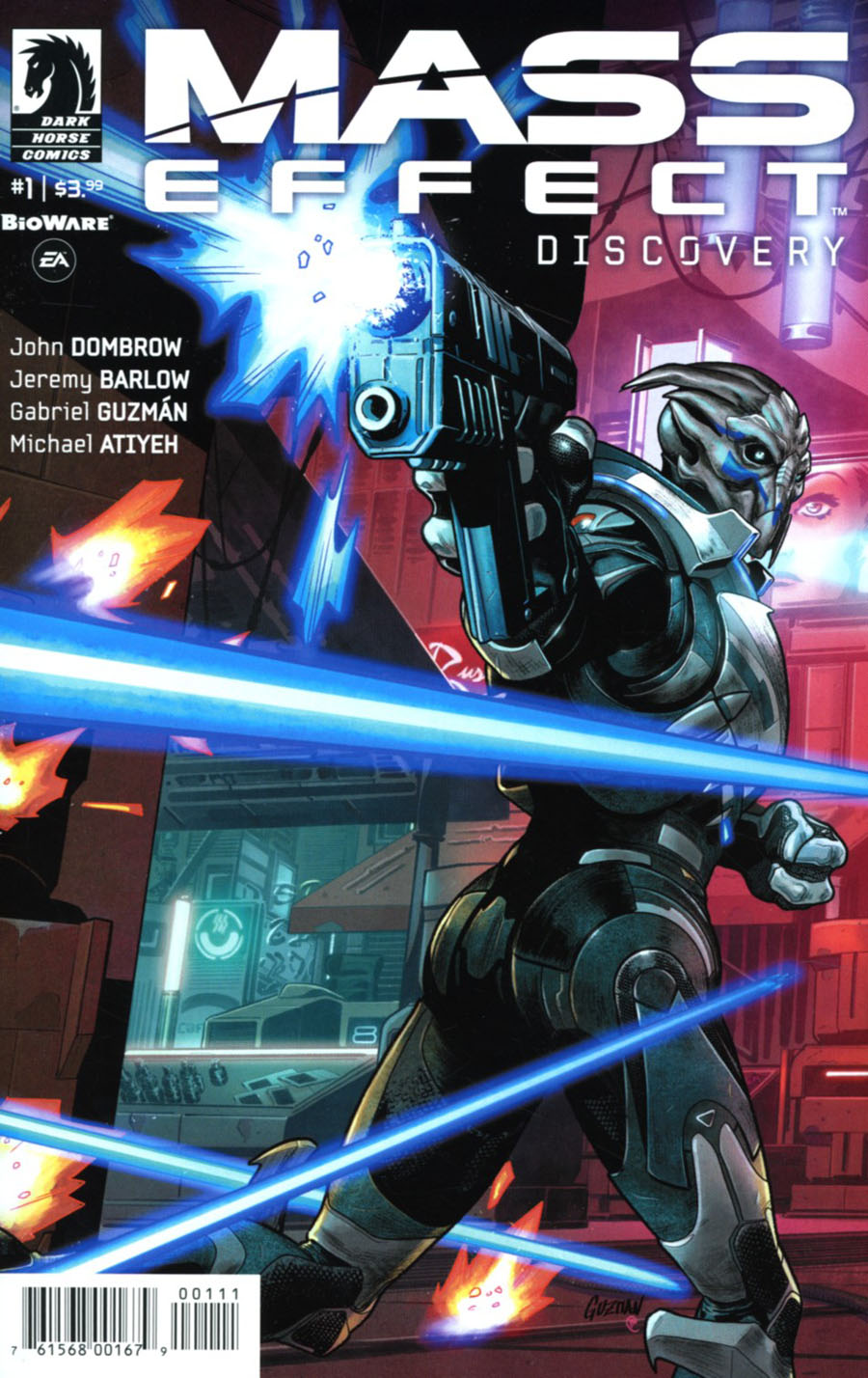 Mass Effect Discovery #1 Cover A Regular Gabriel Guzman Cover