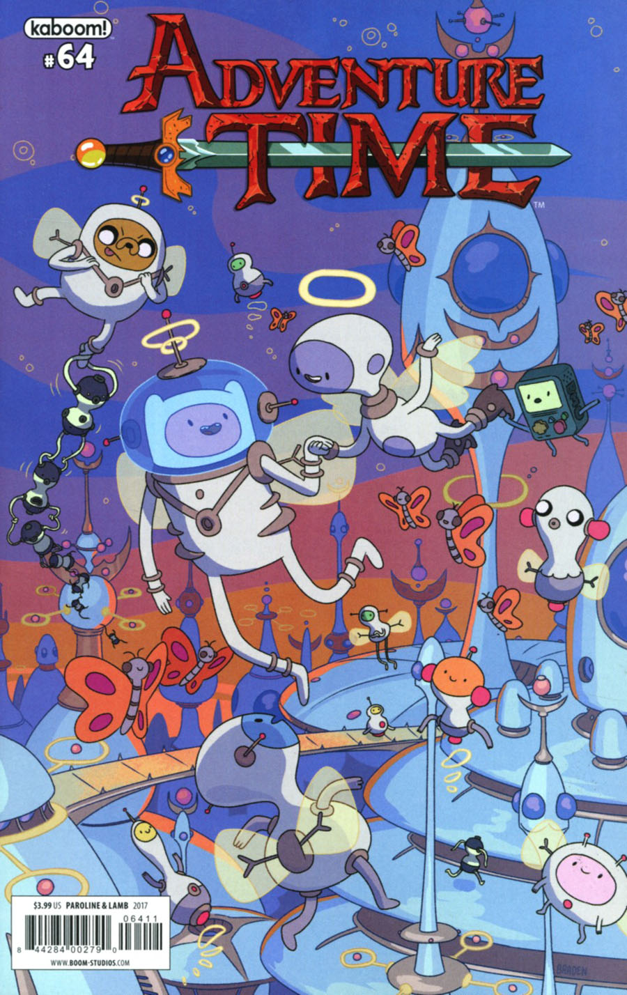 Adventure Time #64 Cover A Regular Shelli Paroline & Braden Lamb Cover