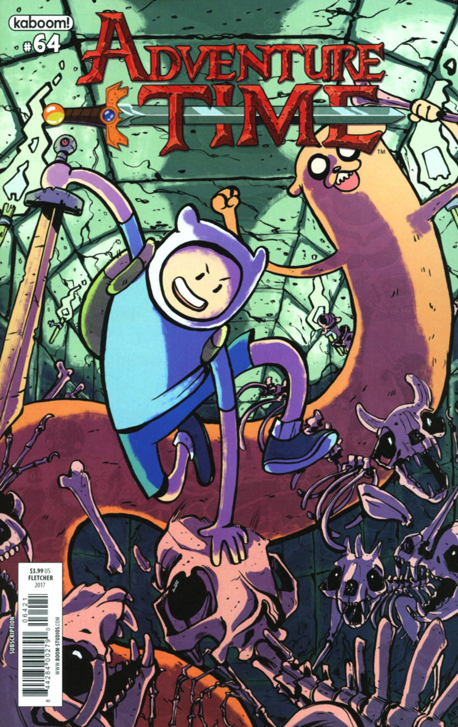 Adventure Time #64 Cover B Variant Alex Fletcher Subscription Cover