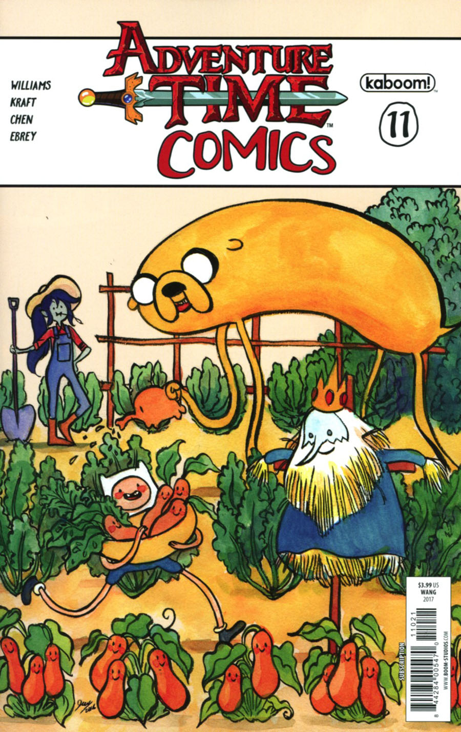 Adventure Time Comics #11 Cover B Variant Jen Wang Subscription Cover