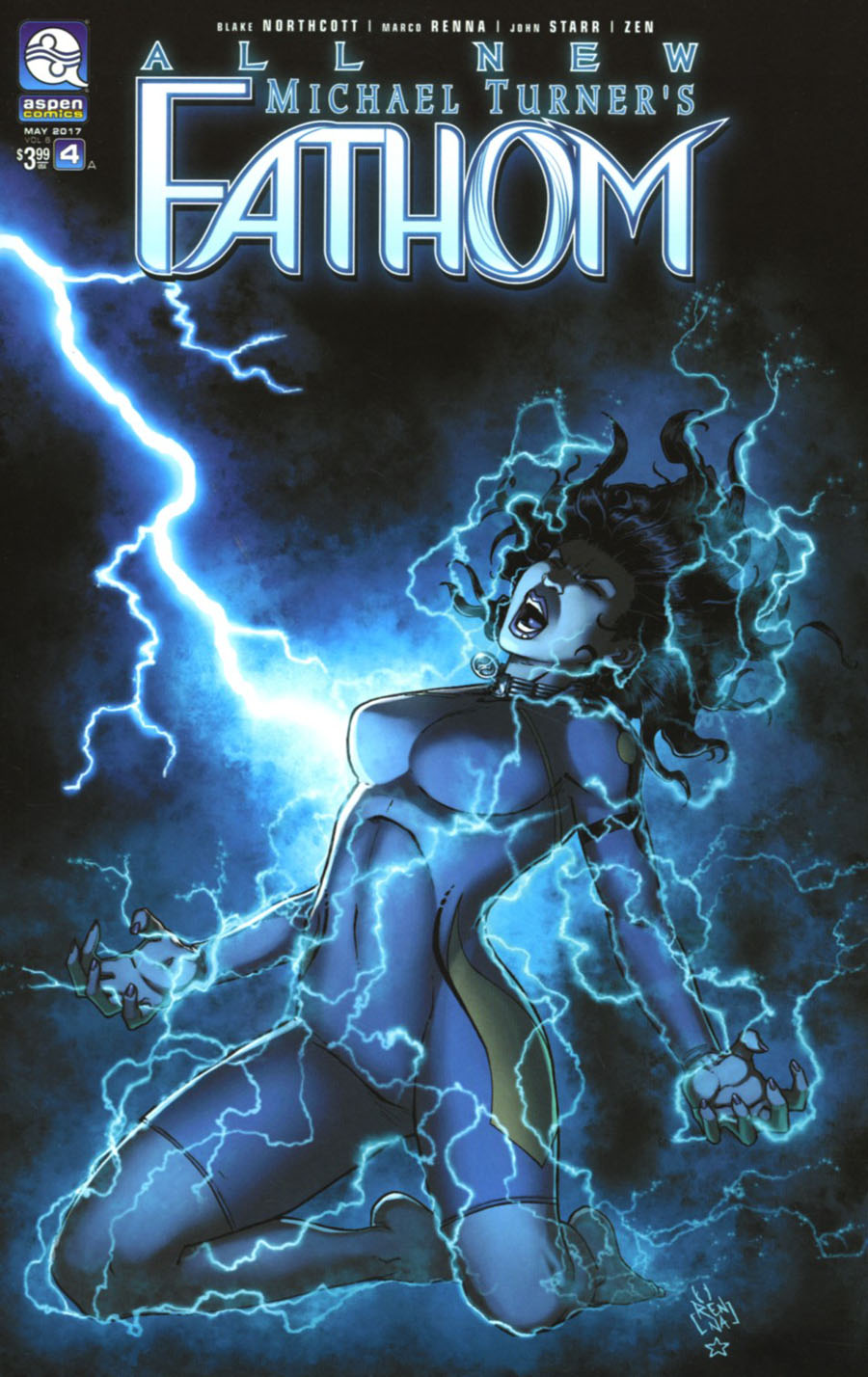 All New Fathom Vol 2 #4 Cover A Regular Marco Renna Cover