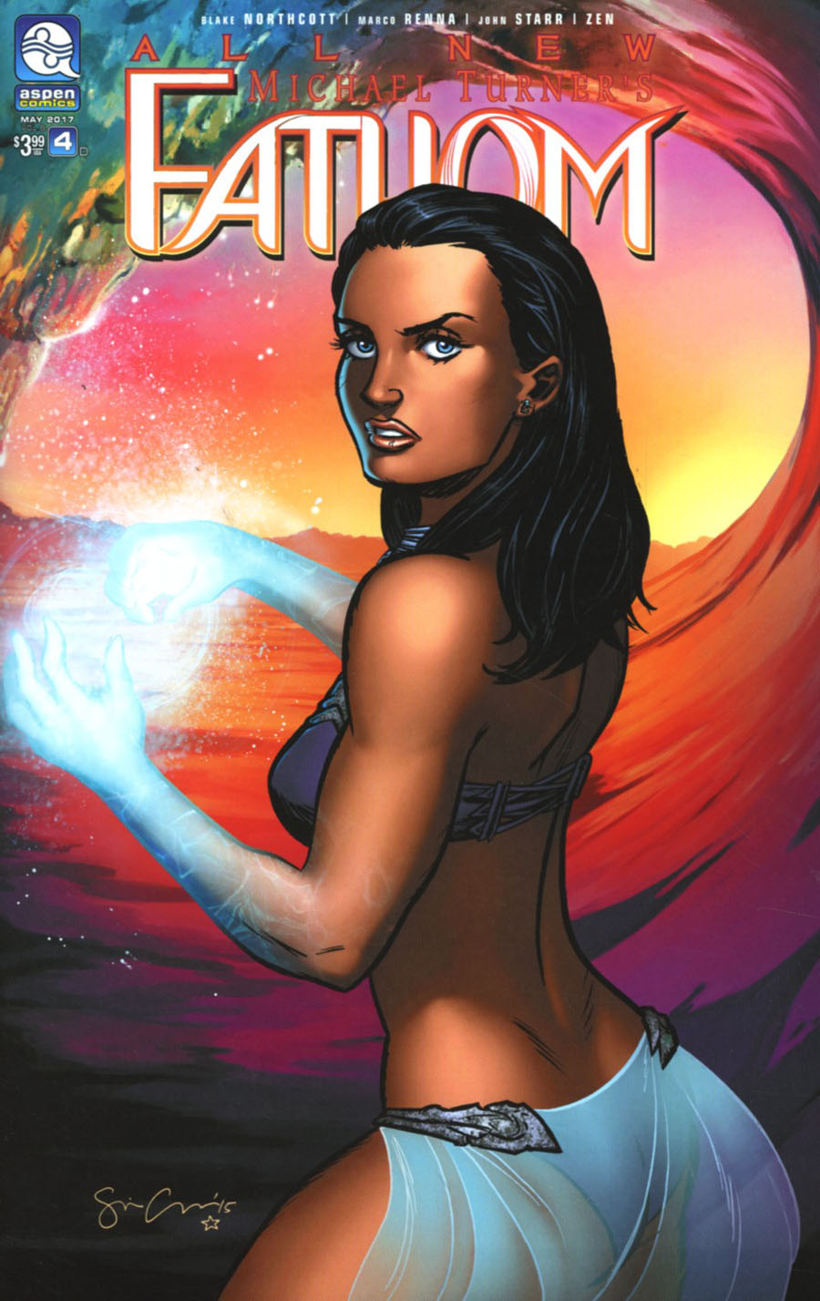 All New Fathom Vol 2 #4 Cover D Variant Sina Grace Cover