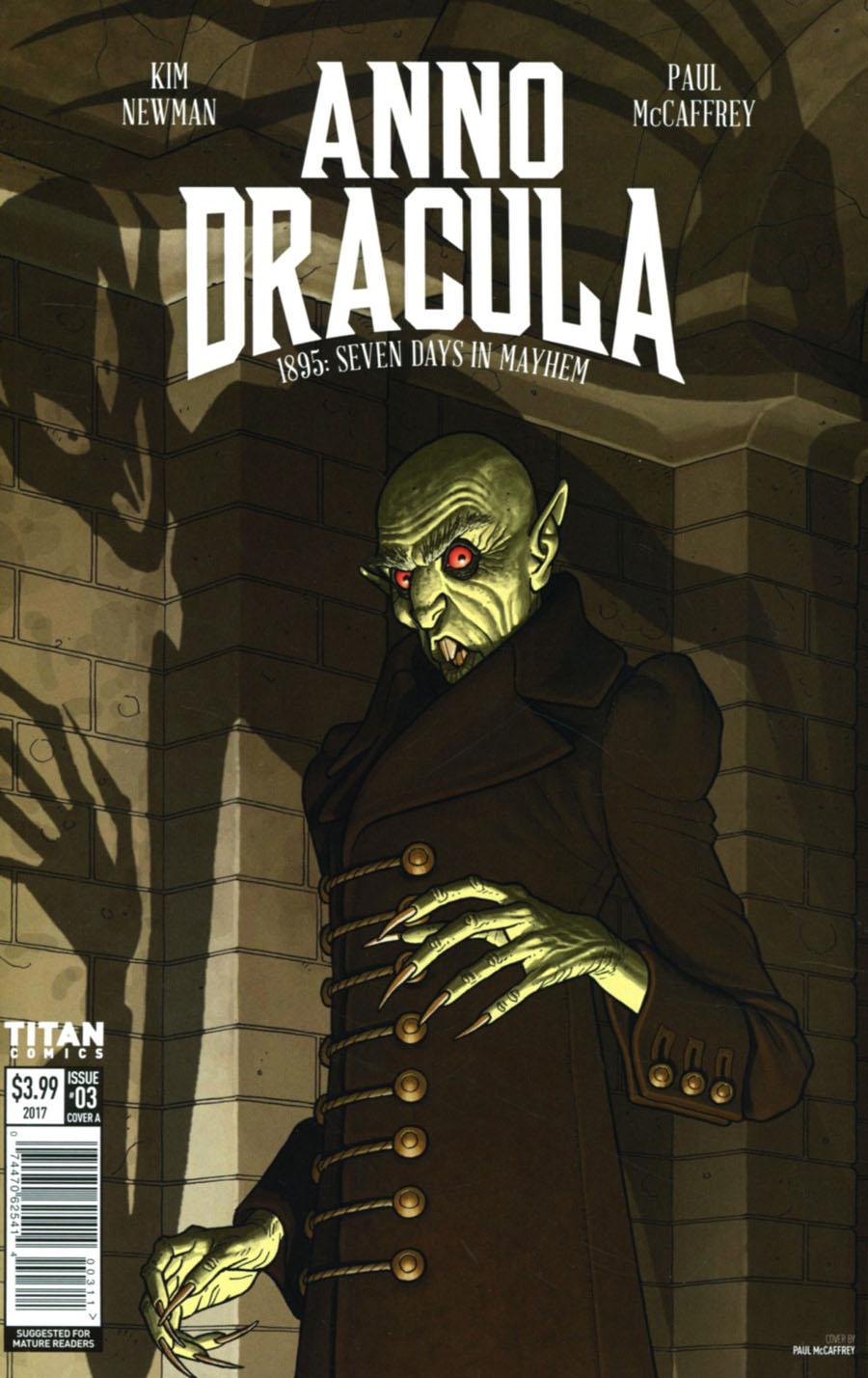 Anno Dracula #3 Cover A Regular Paul McCaffrey Cover