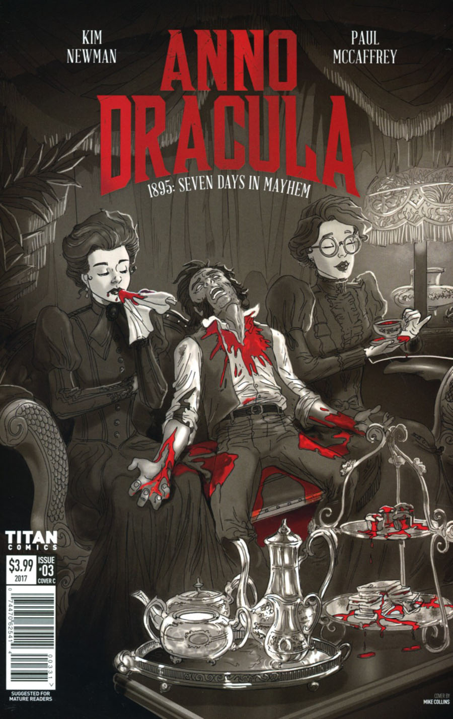 Anno Dracula #3 Cover C Variant Mike Collins Cover