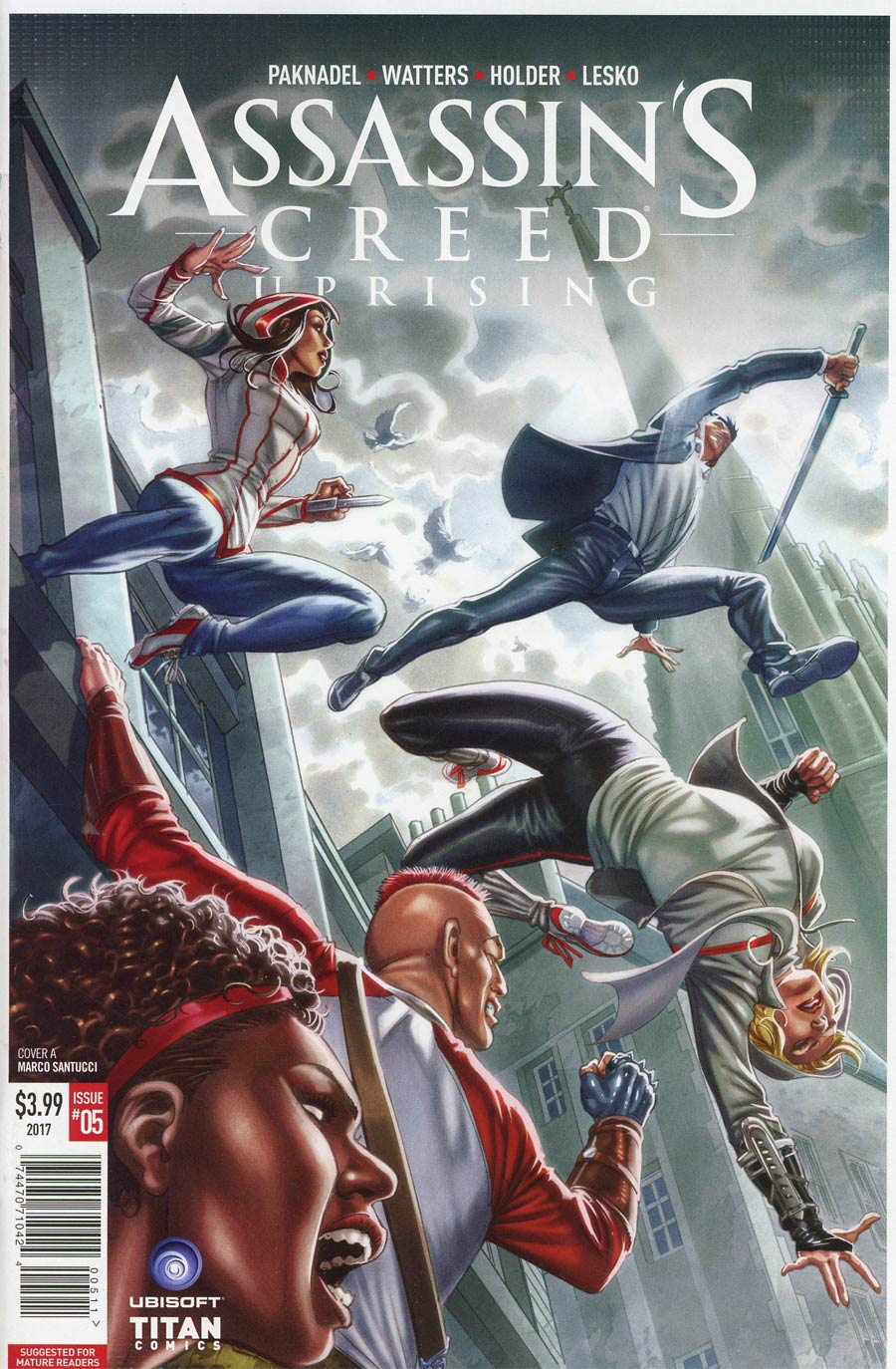 Assassins Creed Uprising #5 Cover A Regular Marco Santucci Cover