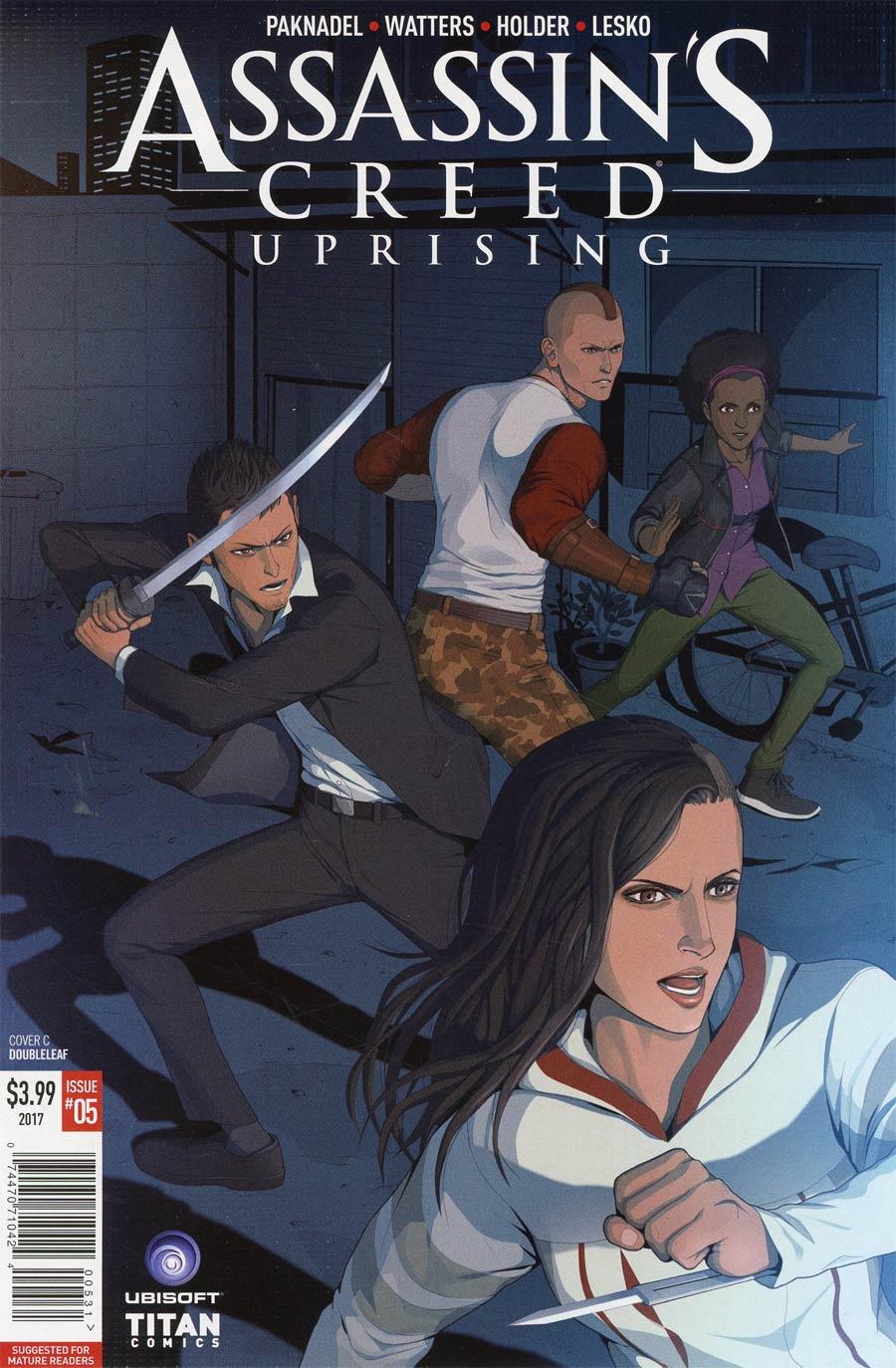 Assassins Creed Uprising #5 Cover C Variant Doubleleaf Cover