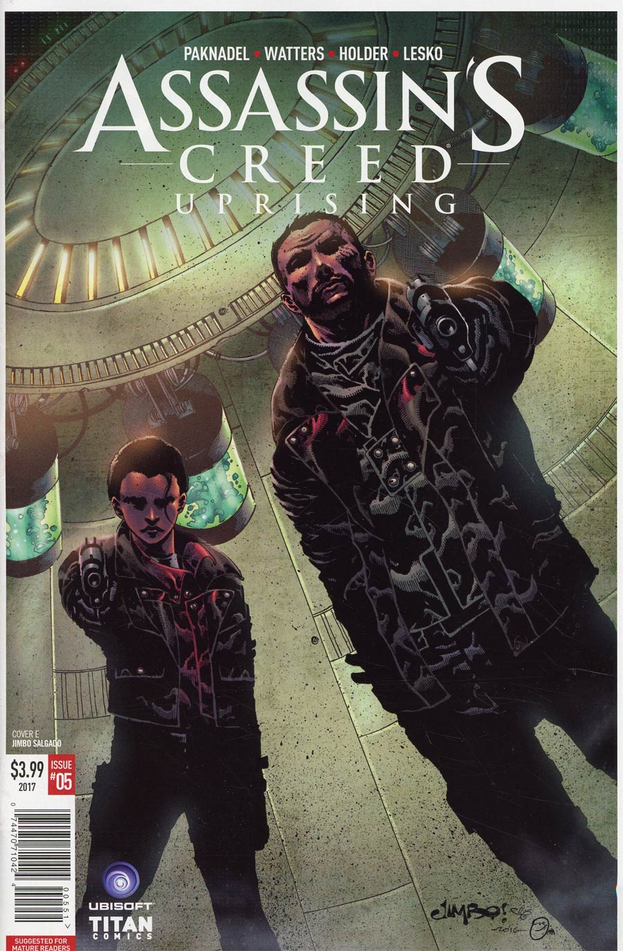 Assassins Creed Uprising #5 Cover E Variant Jimbo Salgado Cover