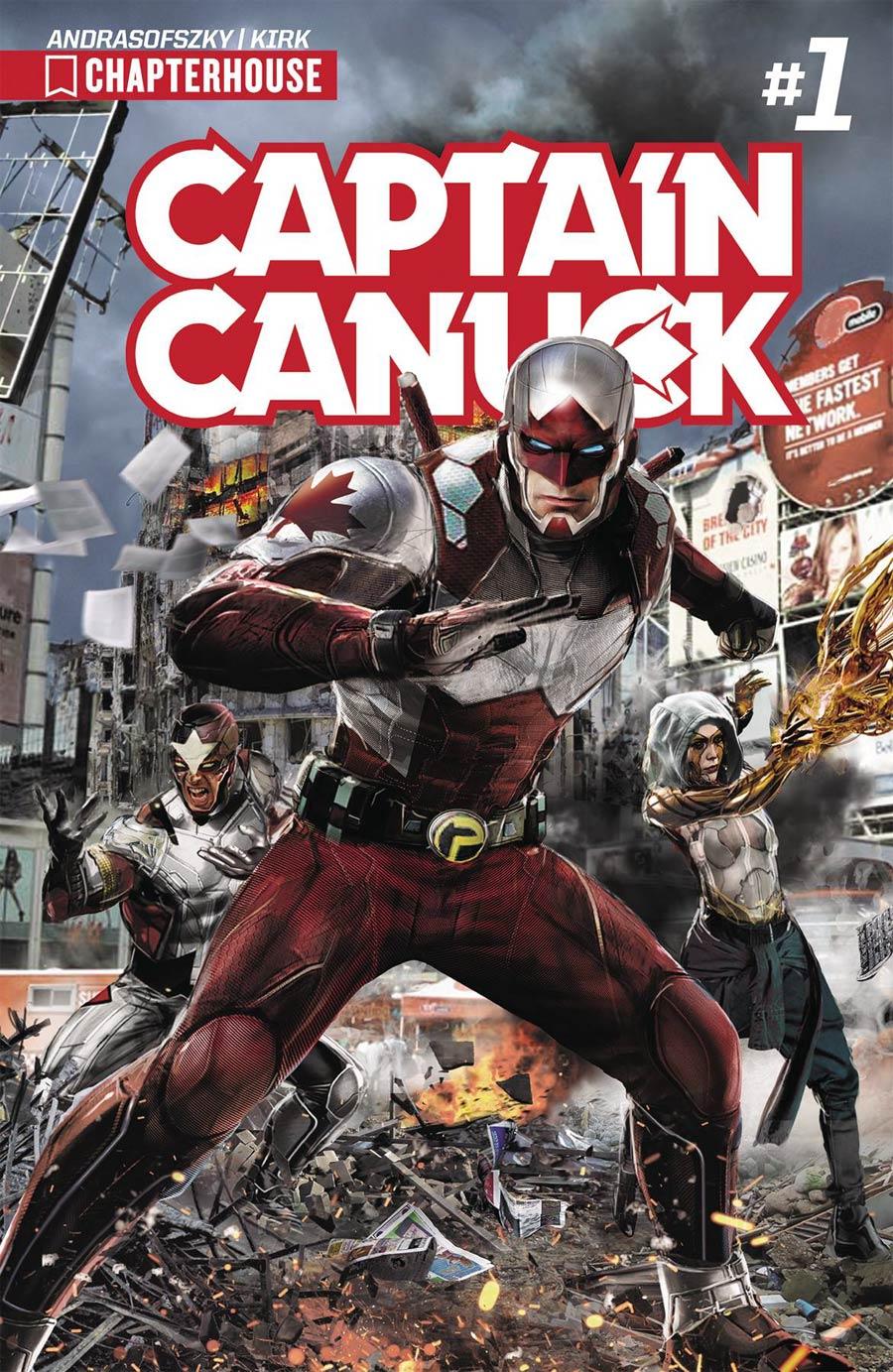 Captain Canuck Vol 3 #1 Cover A Regular John Gallagher Cover