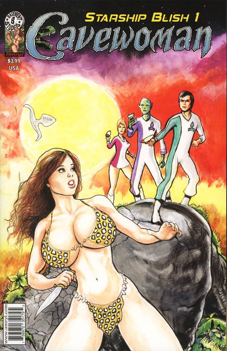 Cavewoman Starship Blish #1 Cover A Regular Devon Massey Cover