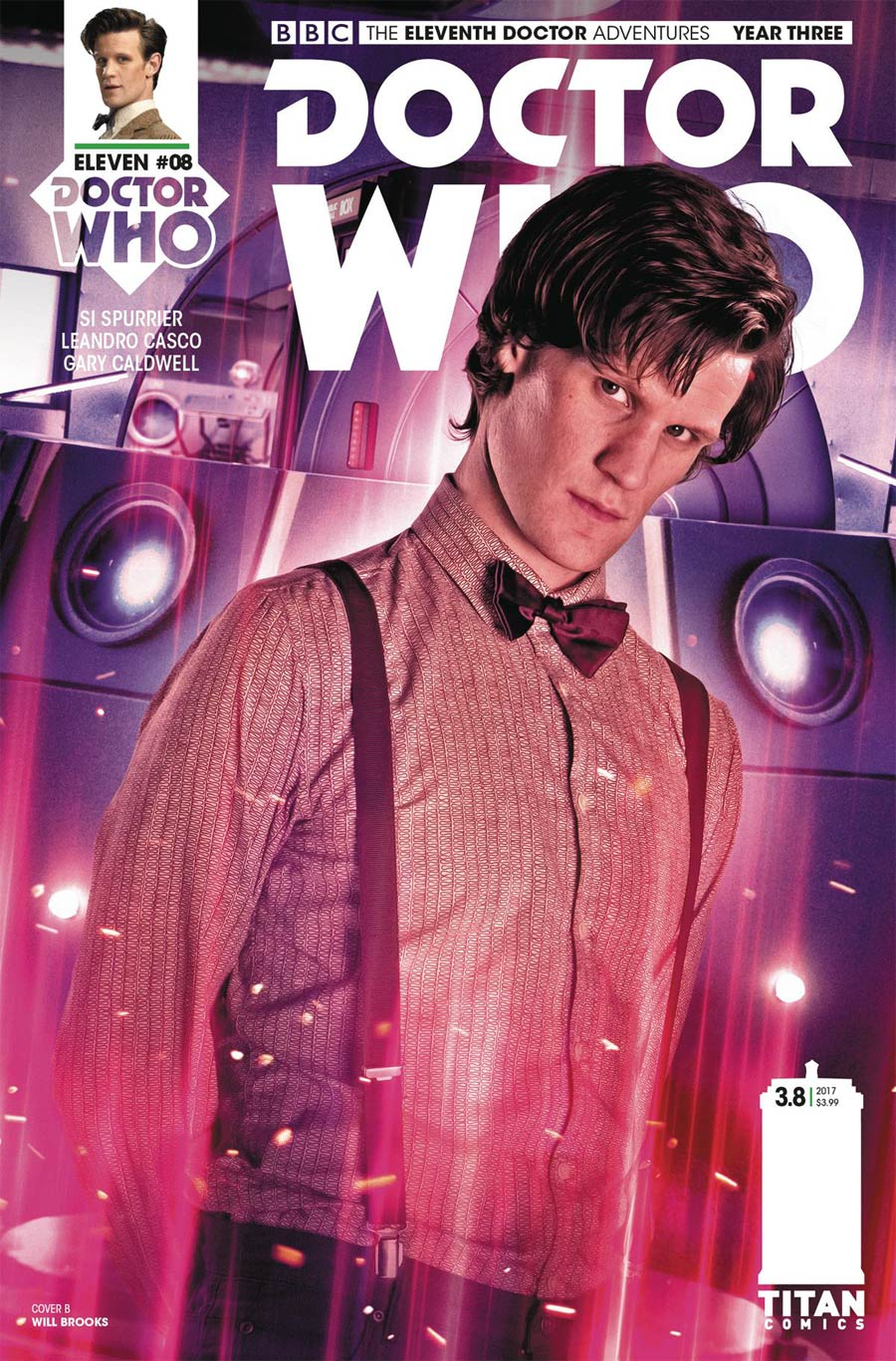 Doctor Who 11th Doctor Year Three #8 Cover B Variant Photo Cover