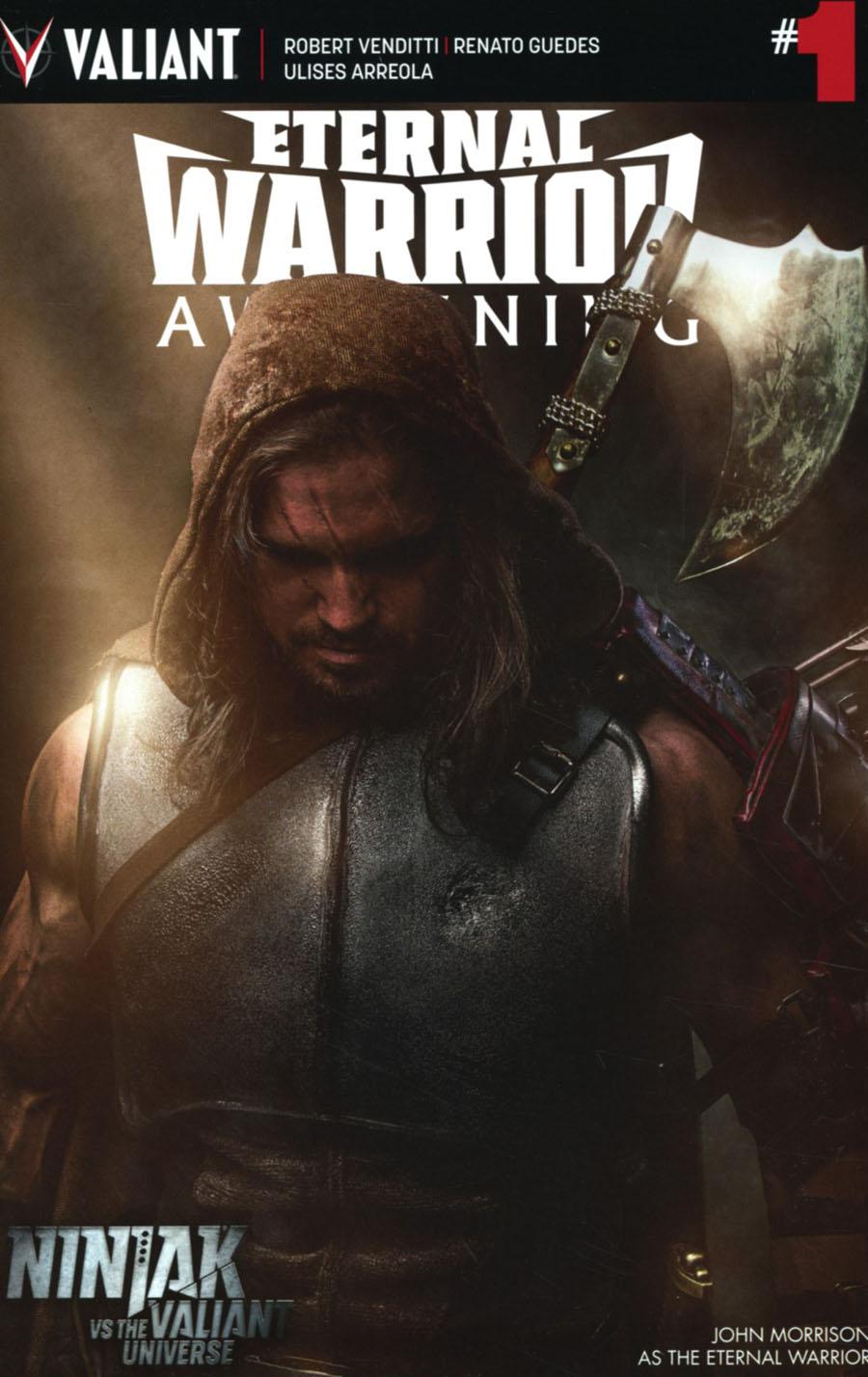 Eternal Warrior Awakening #1 Cover C Variant Ninjak vs The Valiant Universe Cover