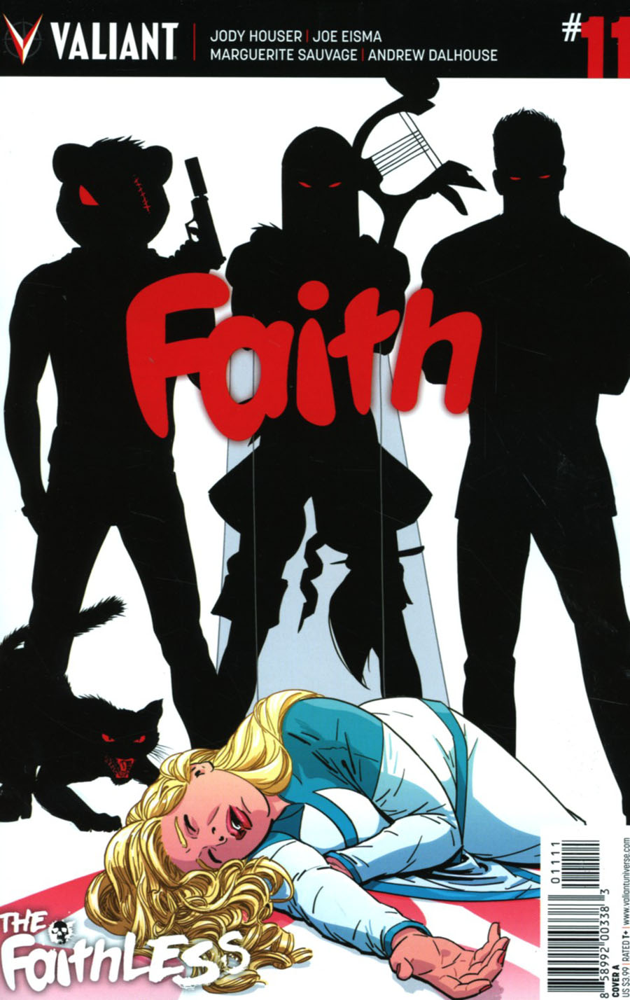 Faith (Valiant Entertainment) Vol 2 #11 Cover A Regular Kano Cover