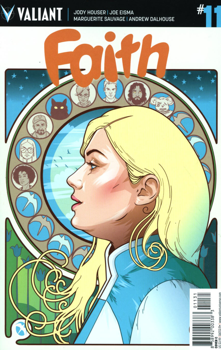 Faith (Valiant Entertainment) Vol 2 #11 Cover C Variant Cryssy Cheung Cover