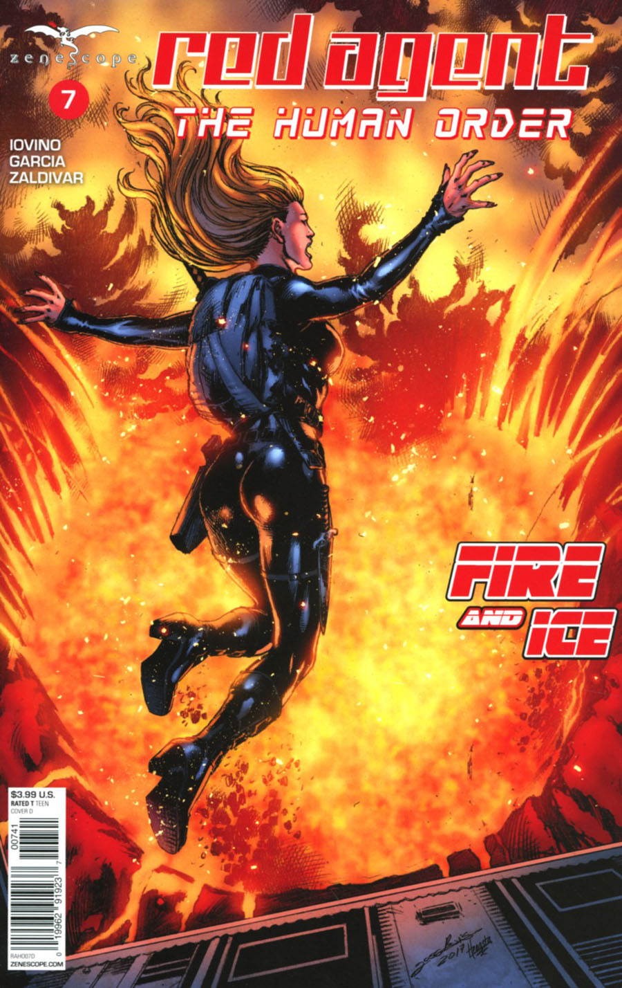 Grimm Fairy Tales Presents Red Agent Human Order #7 Cover D Jose Luis