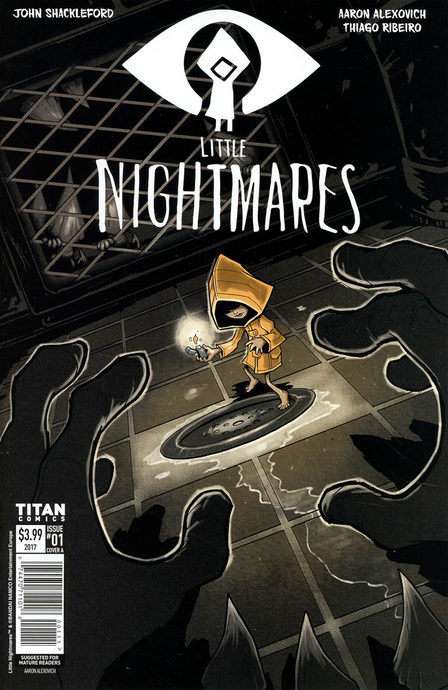 Little Nightmares #1 Cover A Regular Aaron Alexovich Cover