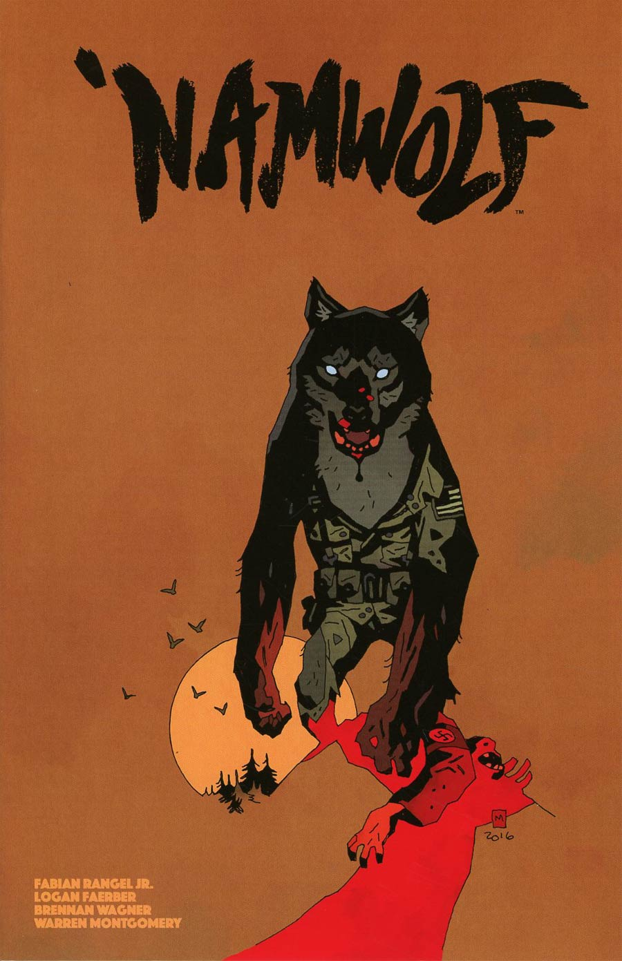 Namwolf #2 Cover B Variant Mike Mignola Special Limited Cover