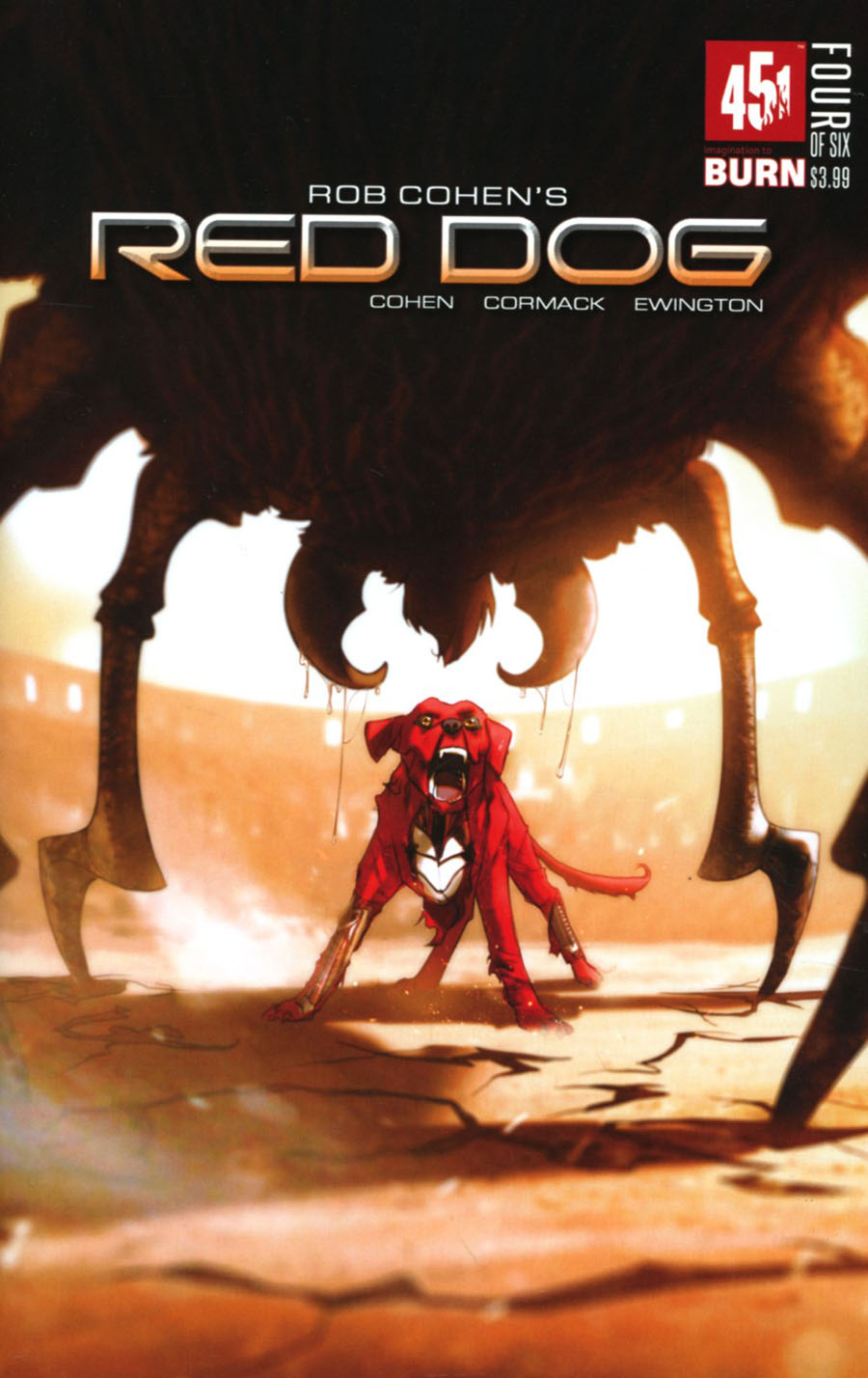Red Dog #4 Cover A Regular W Scott Forbes Cover