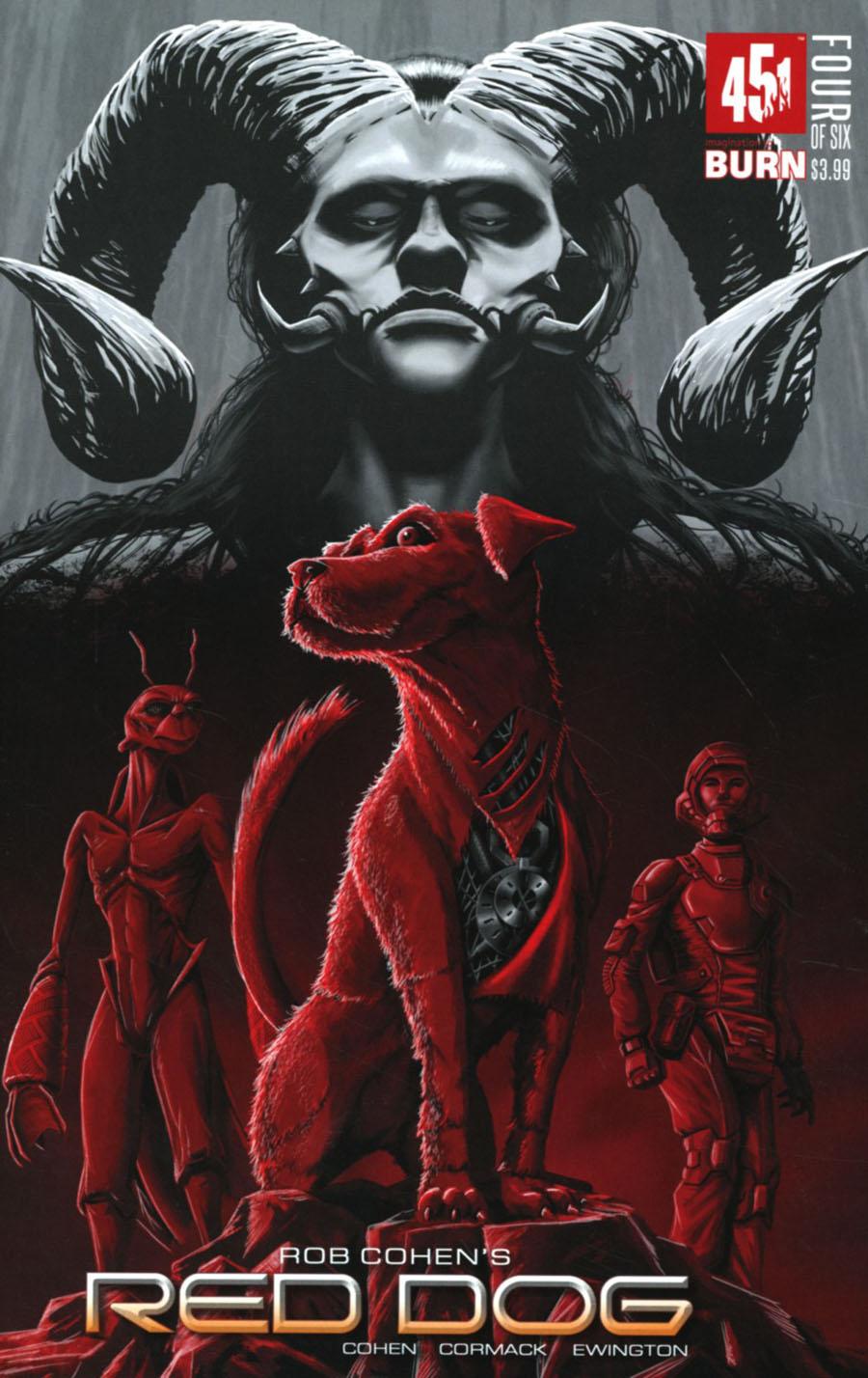 Red Dog #4 Cover B Variant Tom Velez Cover