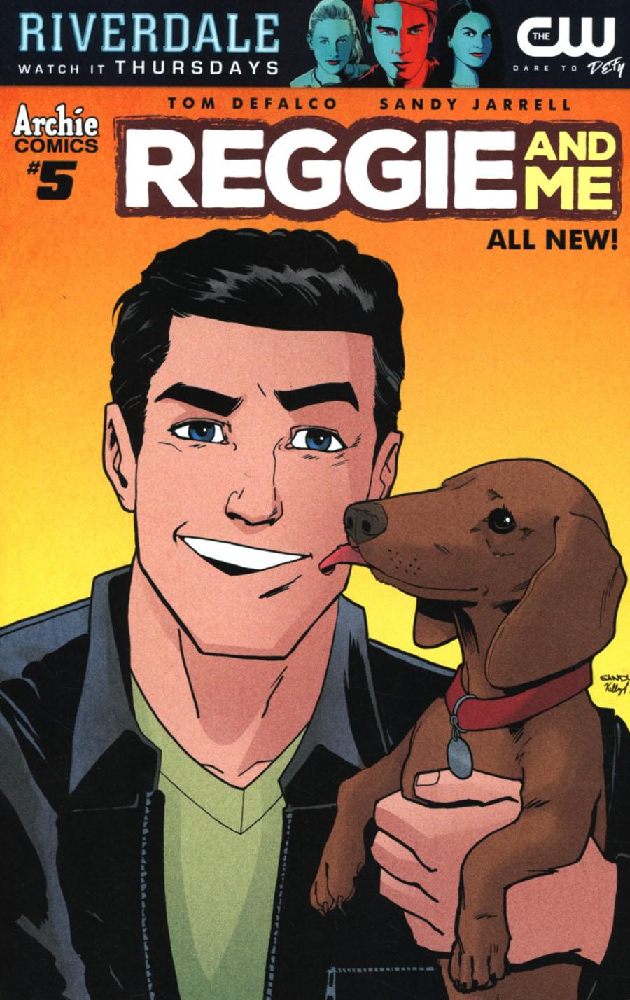 Reggie And Me Vol 2 #5 Cover A Regular Sandy Jarrell Cover