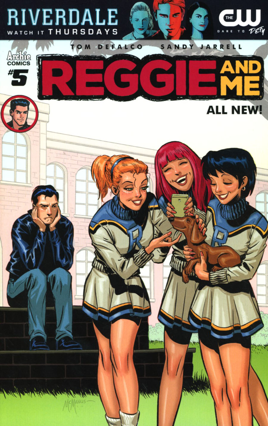 Reggie And Me Vol 2 #5 Cover B Variant Shawn McManus Cover