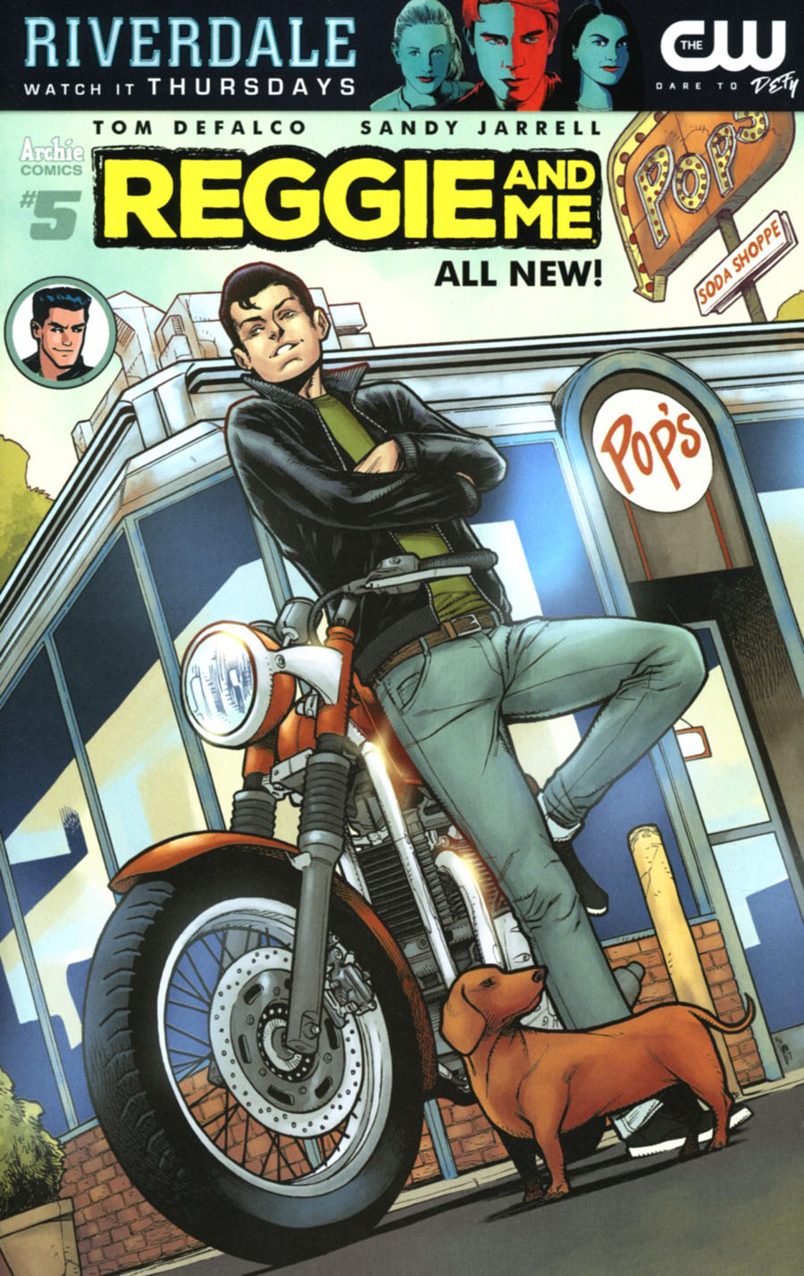 Reggie And Me Vol 2 #5 Cover C Variant Jim Towe Cover
