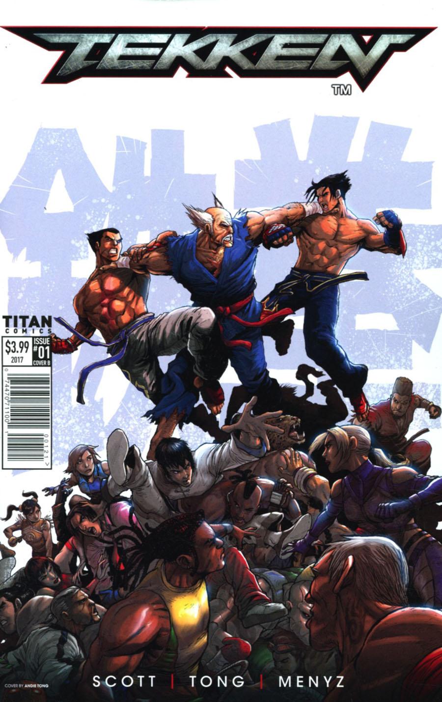 Tekken #1 Cover B Variant Andie Tong Cover