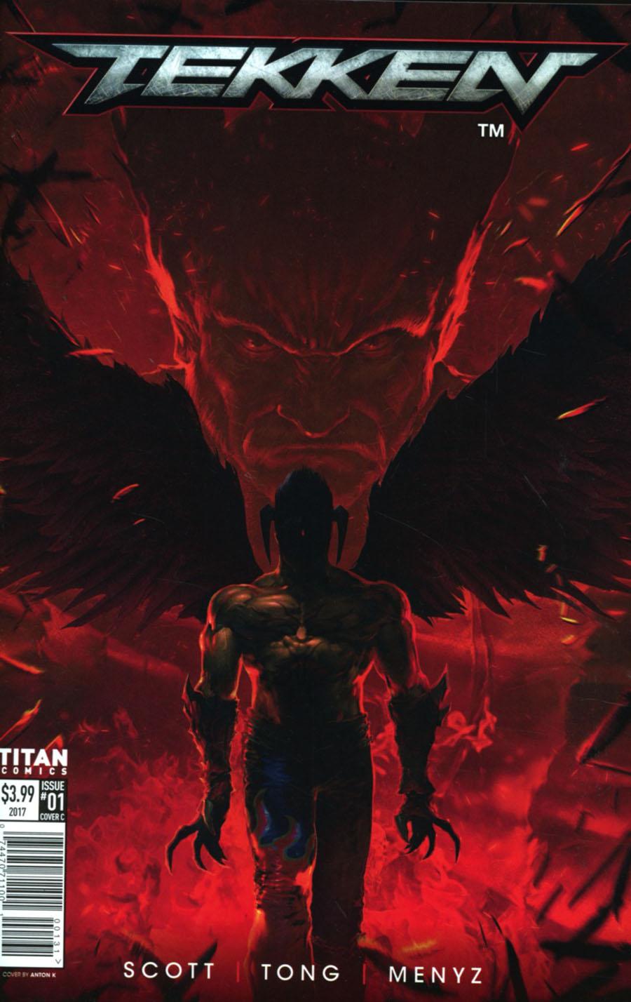 Tekken #1 Cover C Variant Anton K Cover