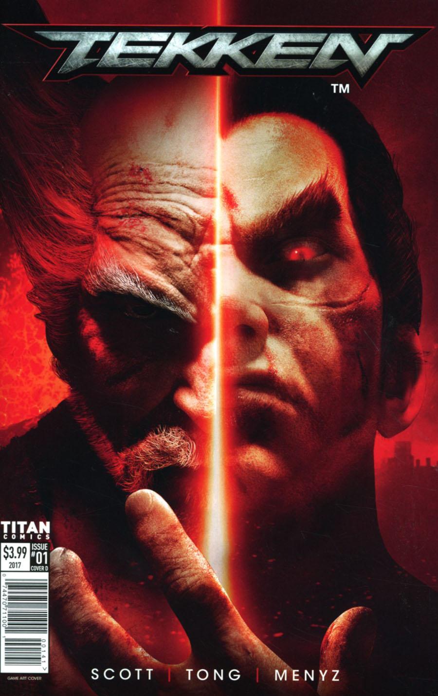 Tekken #1 Cover D Variant Video Game Cover