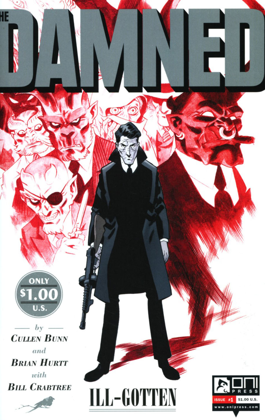 Damned (Oni Press) Vol 2 #1 Cover A Regular Brian Hurtt Cover