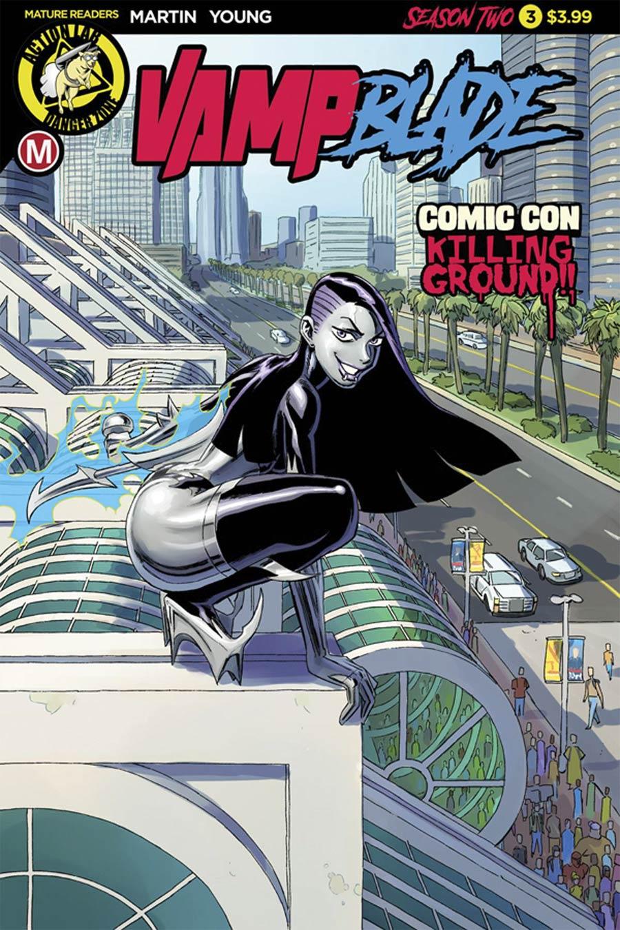 Vampblade Season 2 #3 Cover A Regular Winston Young Cover