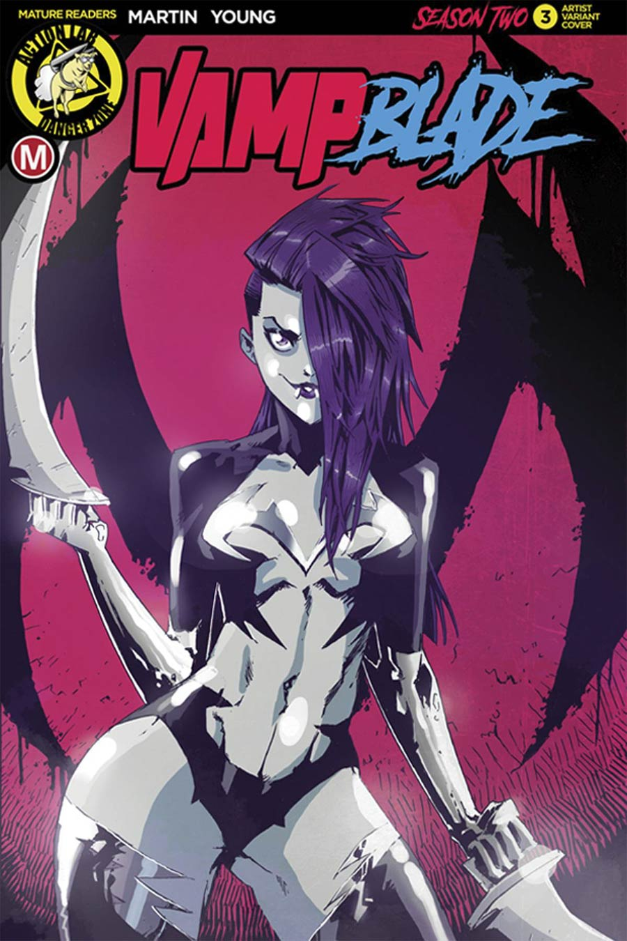 Vampblade Season 2 #3 Cover C Variant Marco Maccagni Artist Cover