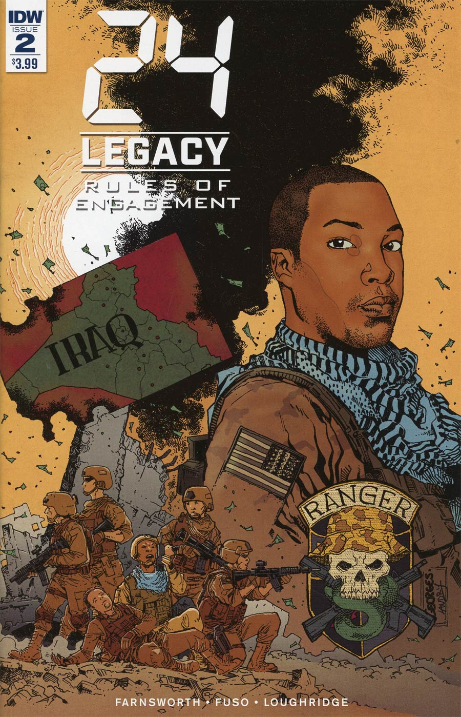 24 Legacy Rules Of Engagement #2 Cover A Regular Georges Jeanty Cover