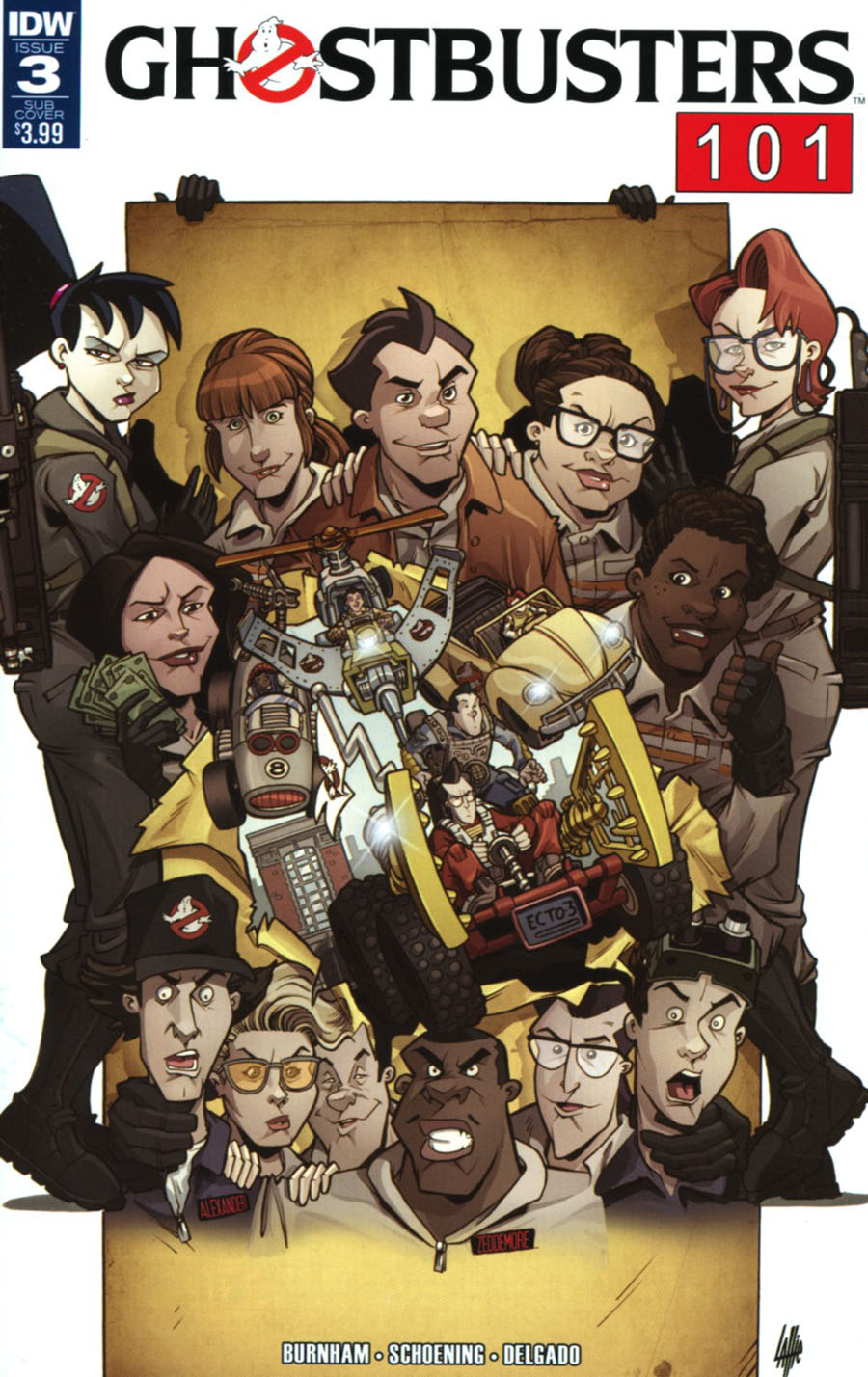 Ghostbusters 101 #3 Cover B Variant Tim Lattie Subscription Cover